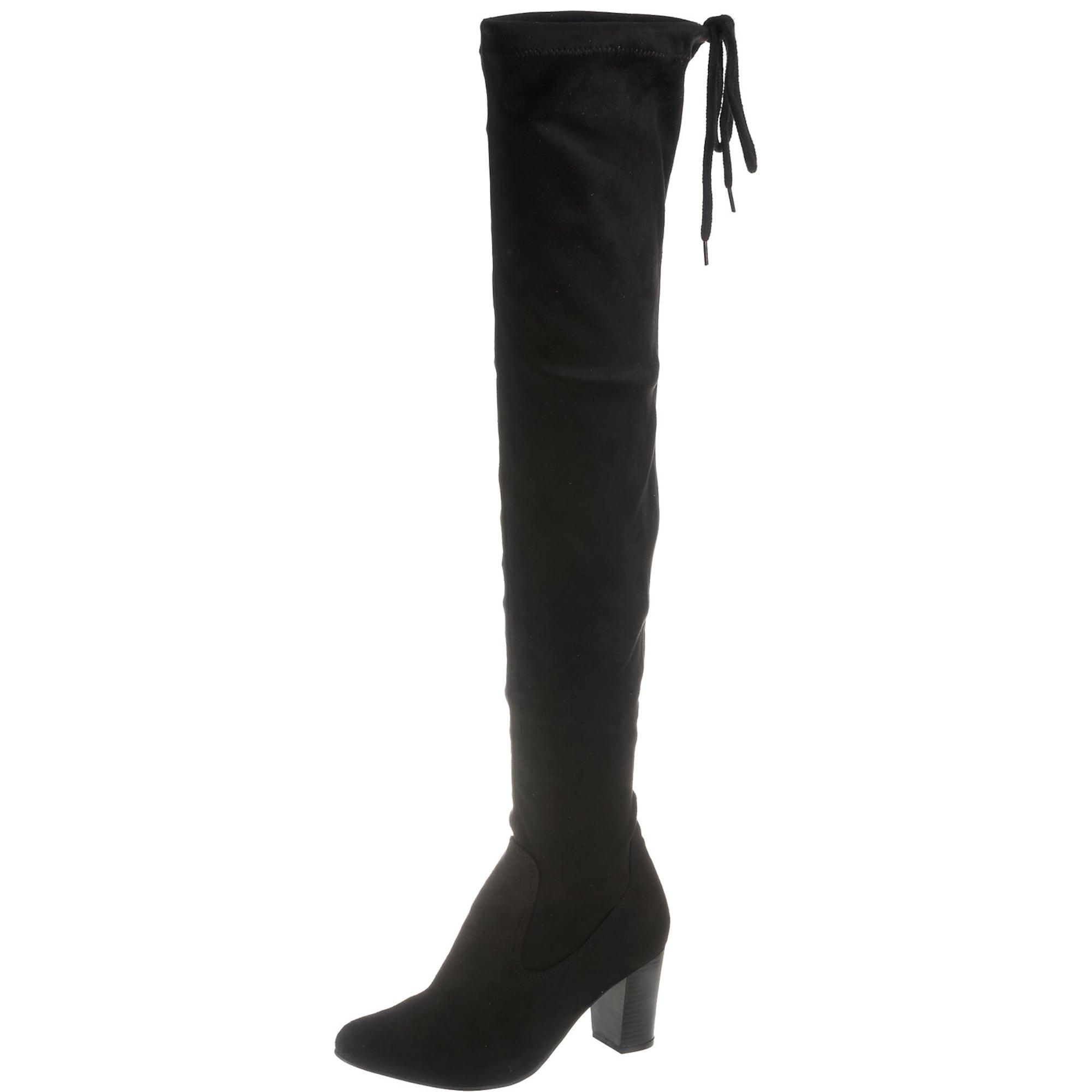Overknee-Stiefel 'Britt' | Schuhe > Stiefel > Overknees | Schwarz | Caprice