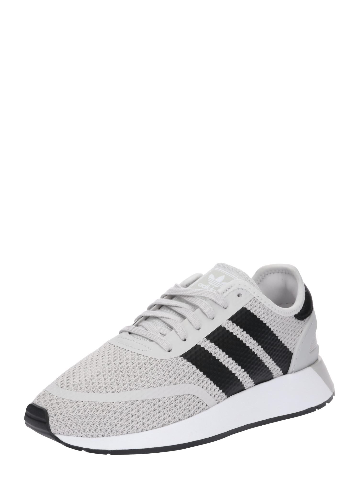 ADIDAS ORIGINALS, Heren Sneakers laag 'N-5923', grijs / zwart