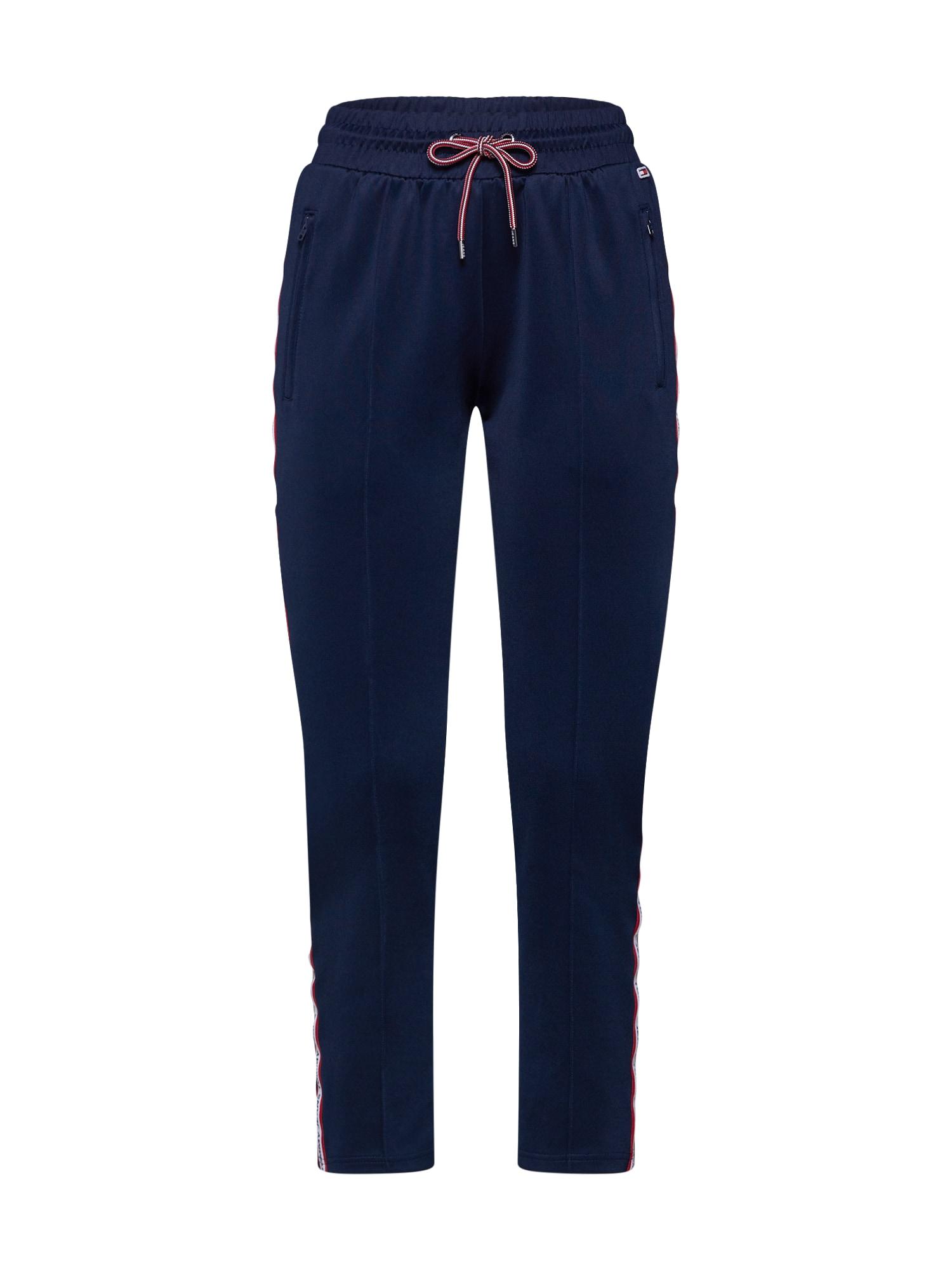 Kalhoty TJW TRACKSUIT PANT námořnická modř červená bílá Tommy Jeans