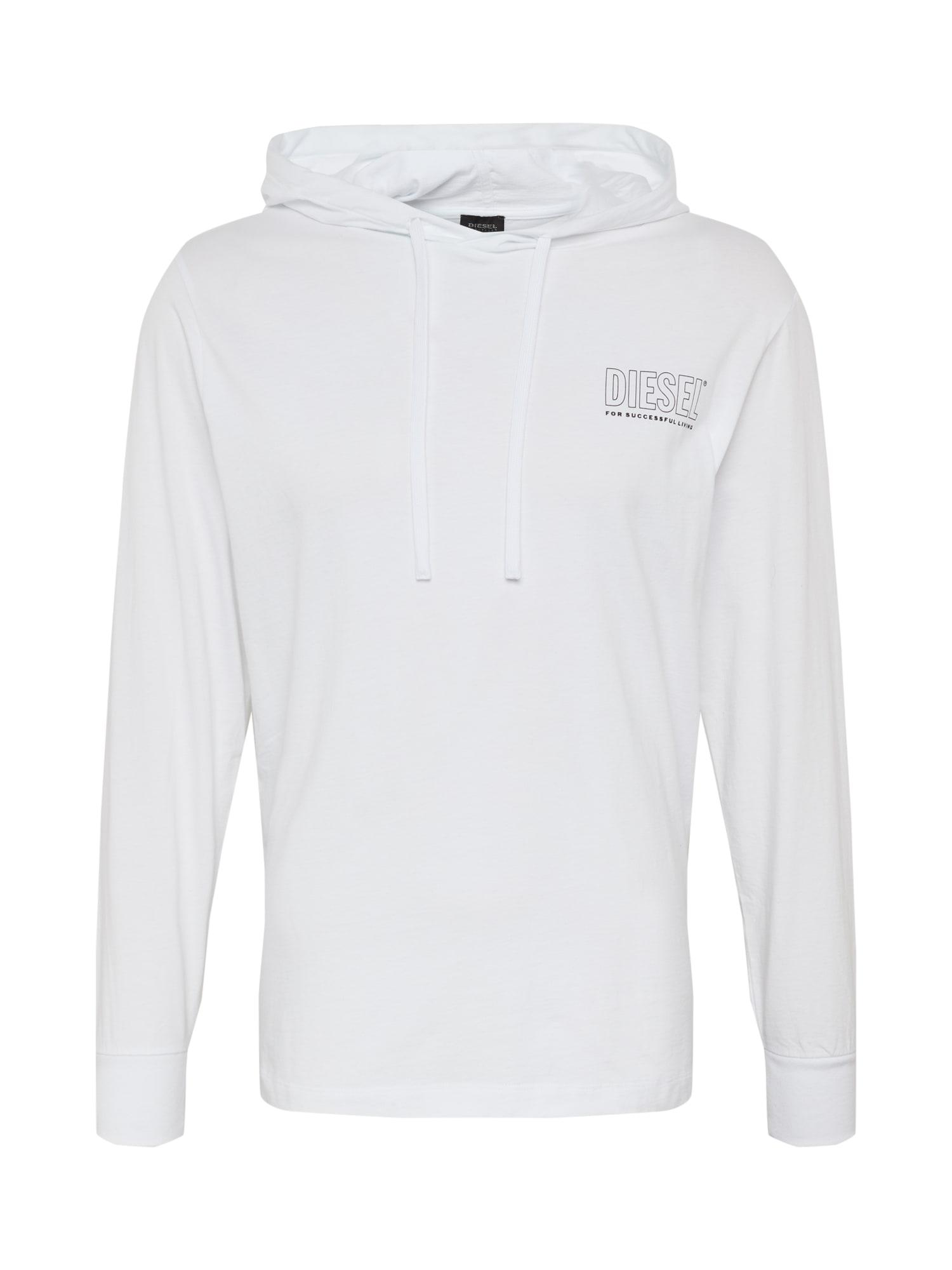 DIESEL Tričko  bílá