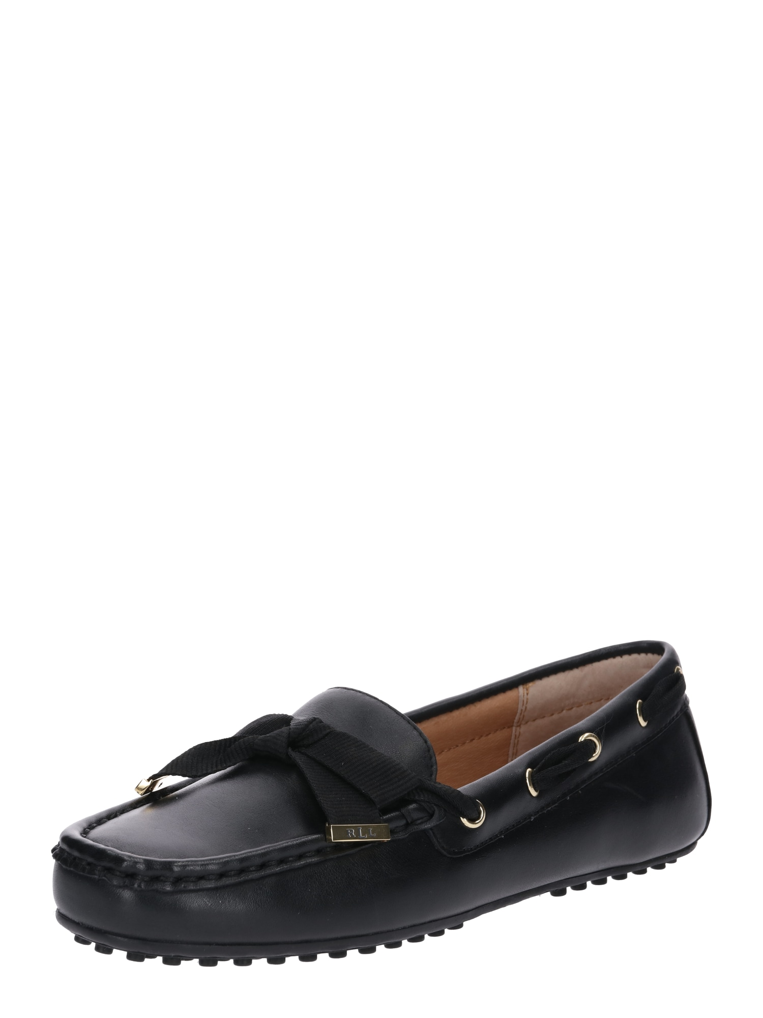 Pantofle Becka černá Lauren Ralph Lauren