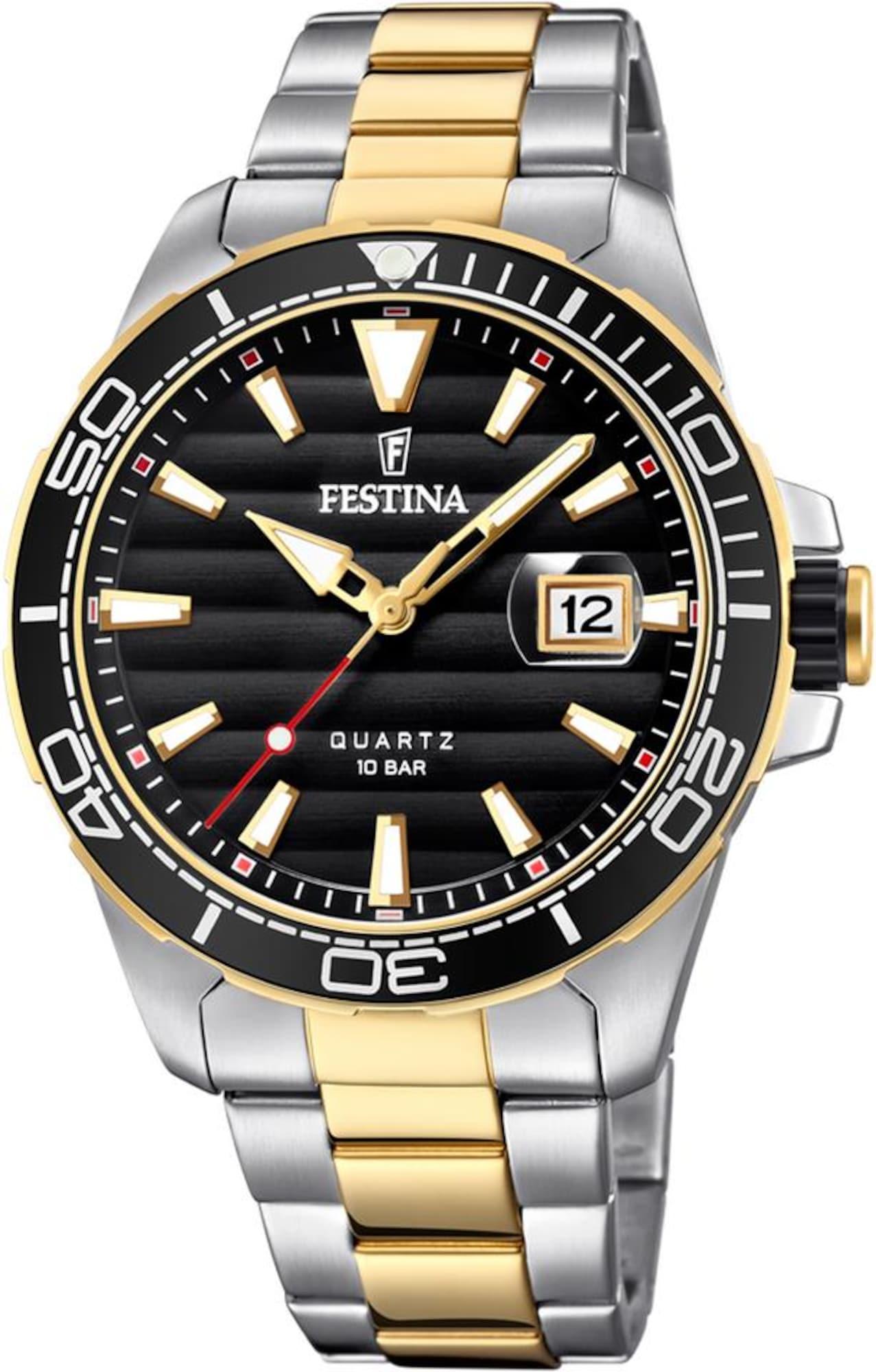 Quarzuhr 'Prestige' | Uhren > Quarzuhren | Gold - Silber | FESTINA