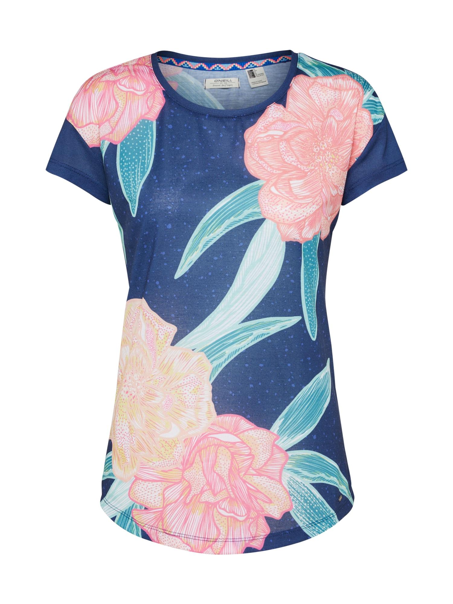 ONEILL Tričko námořnická modř pink O'NEILL