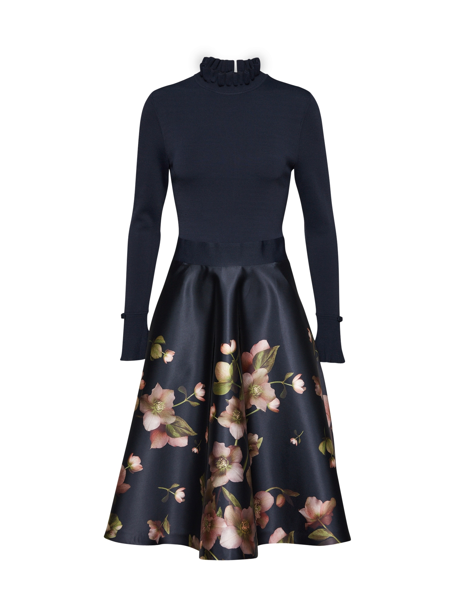Ted Baker Cocktailjurk 'SEEMA' navy / rosa