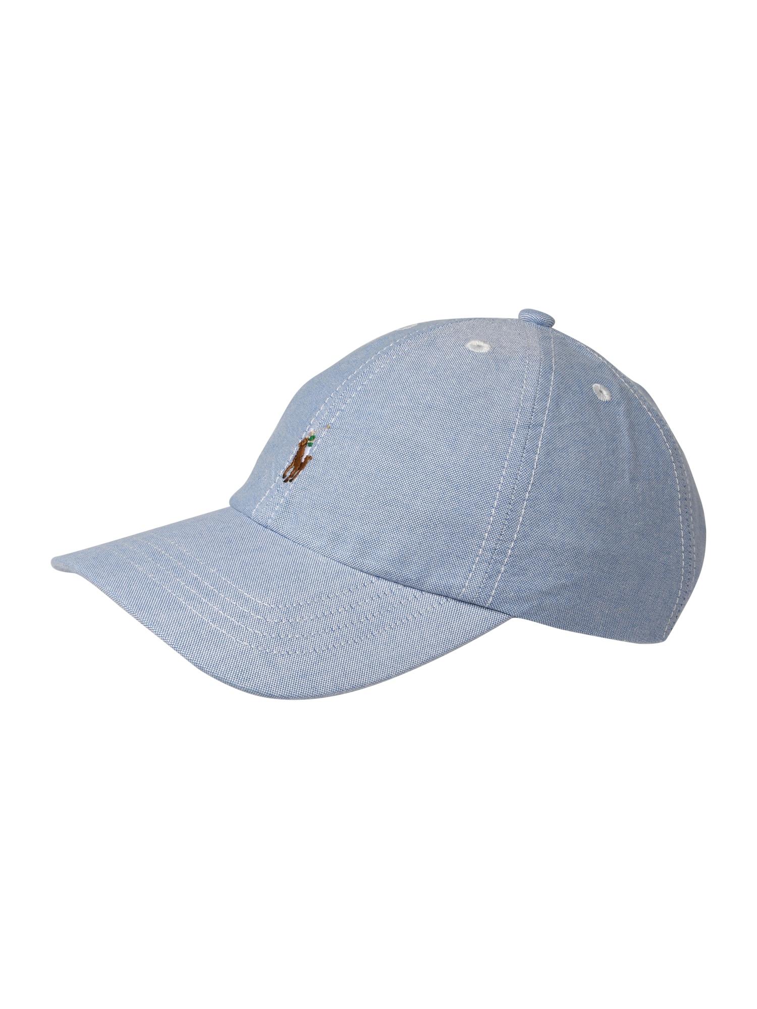 Klobouk OXFORD-SMALL PP CAP-AC-HAT modrá POLO RALPH LAUREN