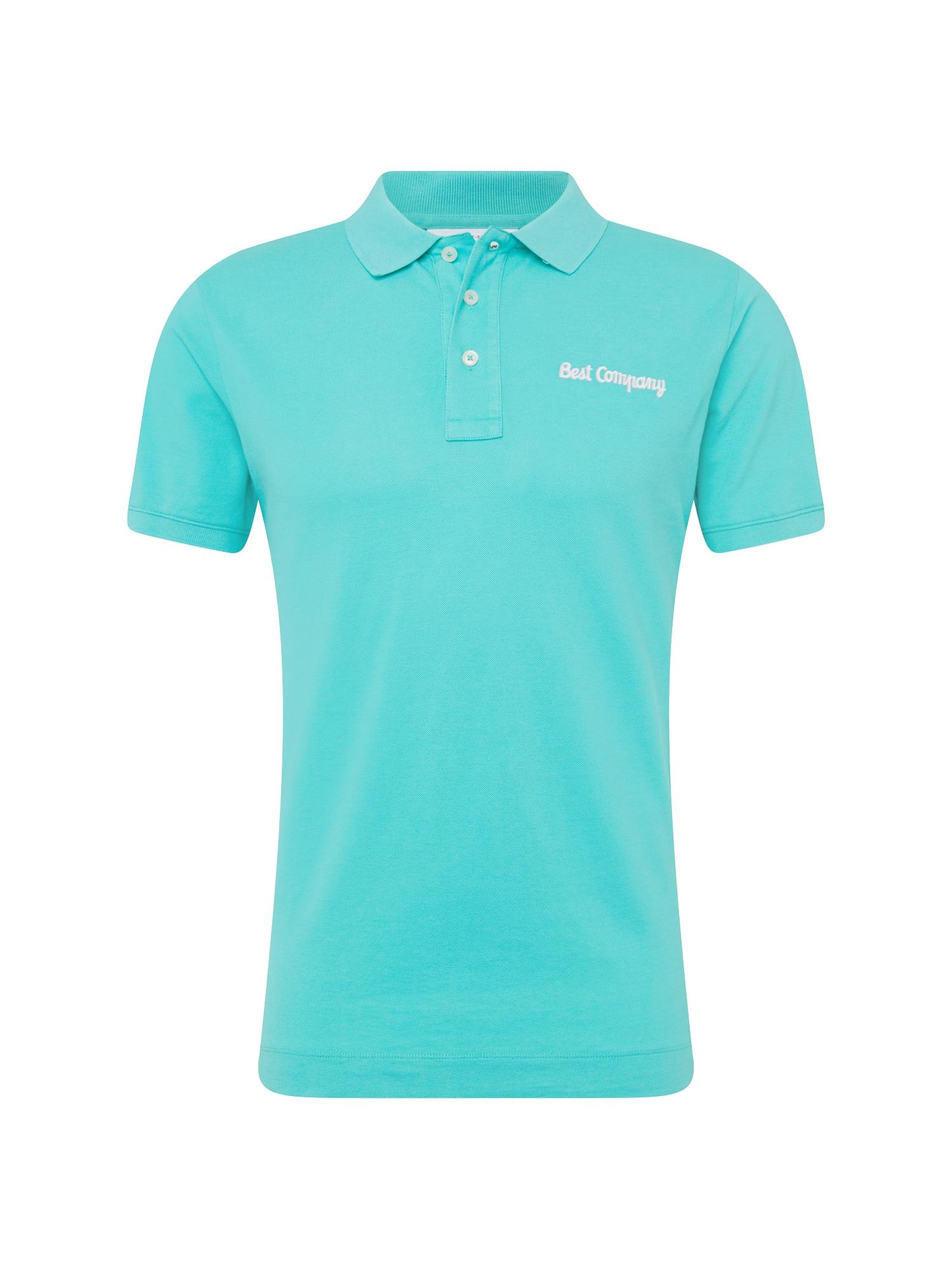 Tričko aqua modrá Best Company