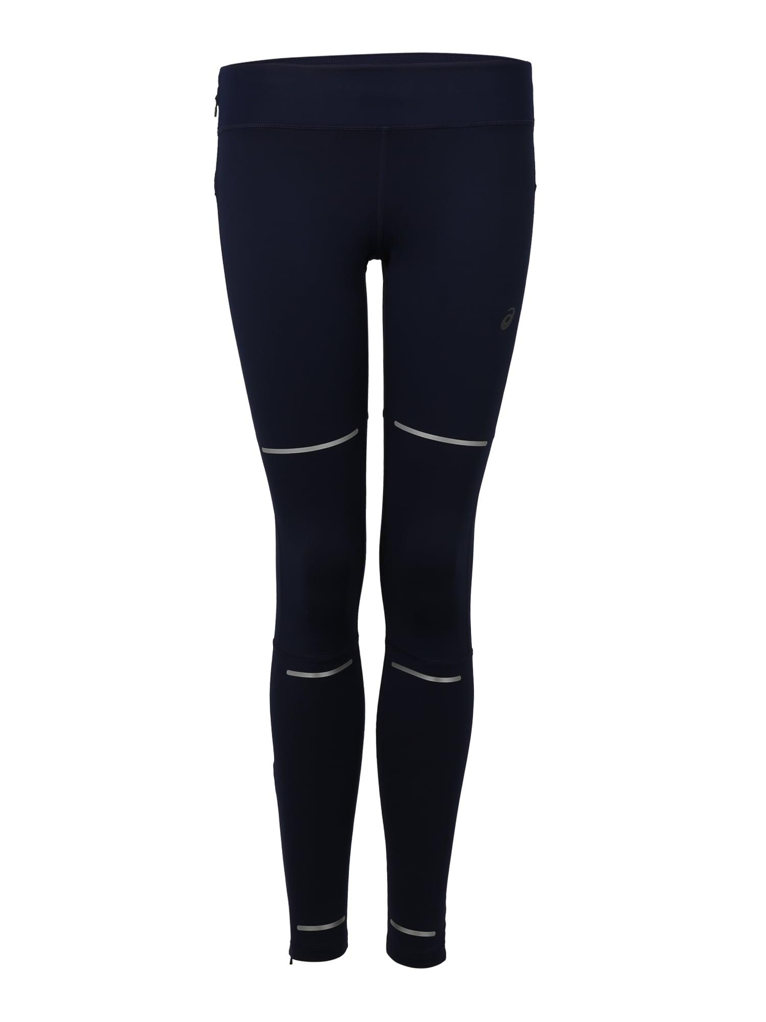 Sportovní kalhoty LITE-SHOW WINTER tmavě modrá ASICS