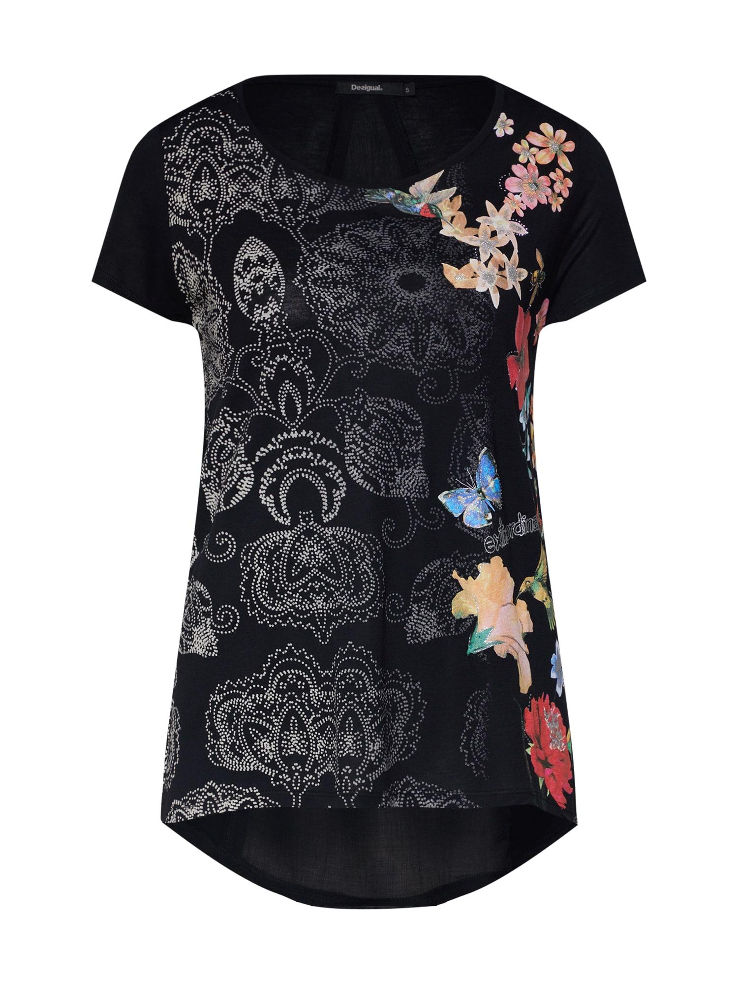 Tričko TS_PANAMA černá Desigual