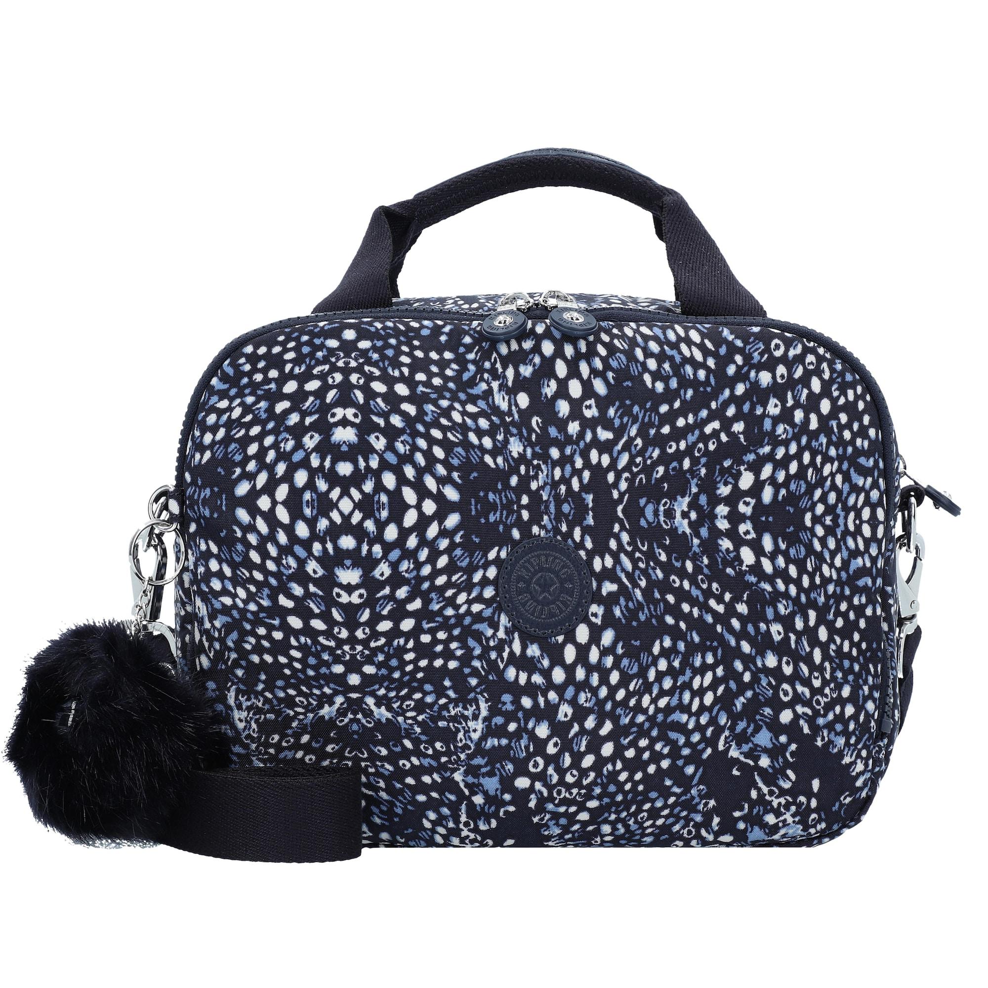 KIPLING, Dames Toilettas 'Basic Plus Travel Palmbeach BP', blauw / zwart / wit