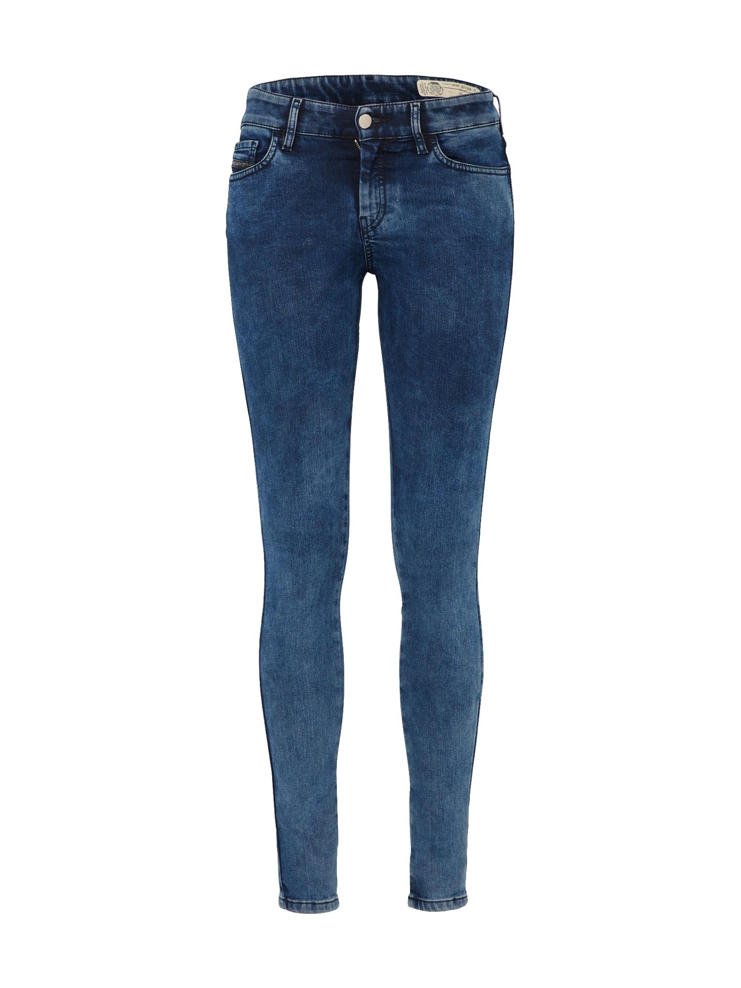 DIESEL Dames Jeans Slandy blue denim