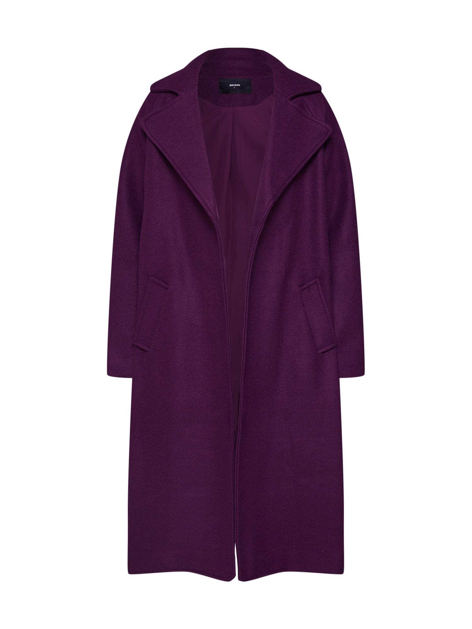 Přechodný kabát fialová Bik Bok
