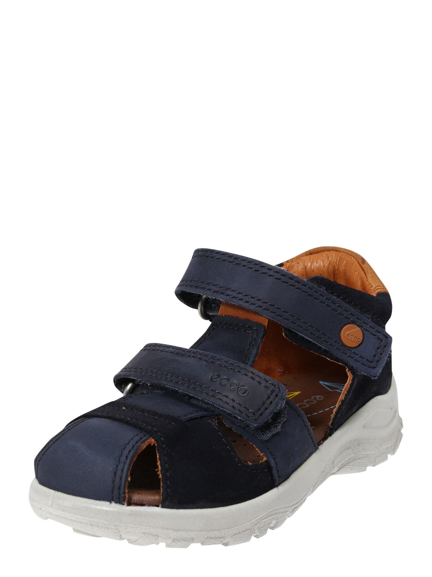 Otevřená obuv Peekaboo modrá ECCO