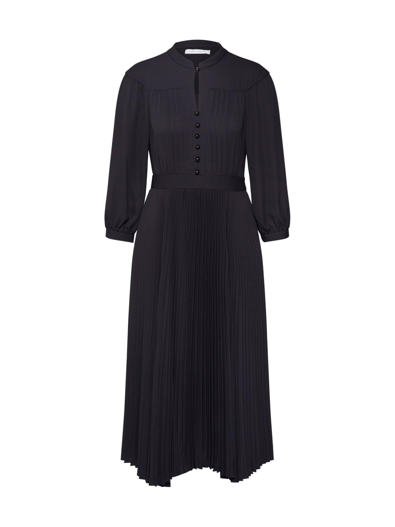 Sofie Schnoor Košeľové šaty 'S201343'  čierna