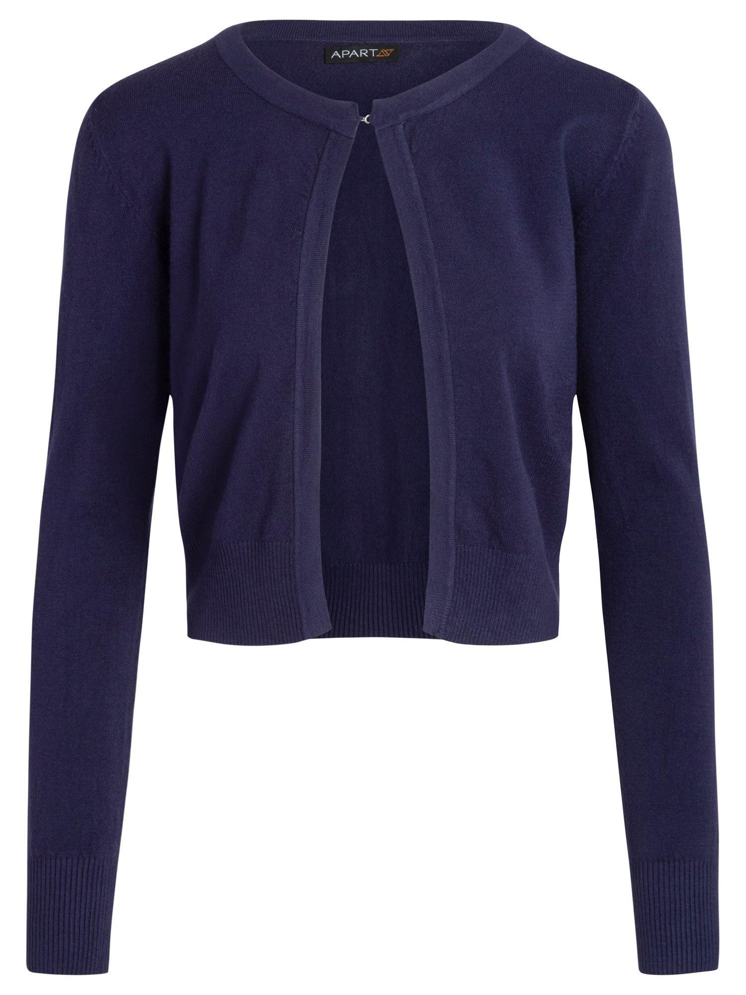 Strickbolero aus feinem, kuscheligem Material   Bekleidung > Jacken > Boleros   Apart