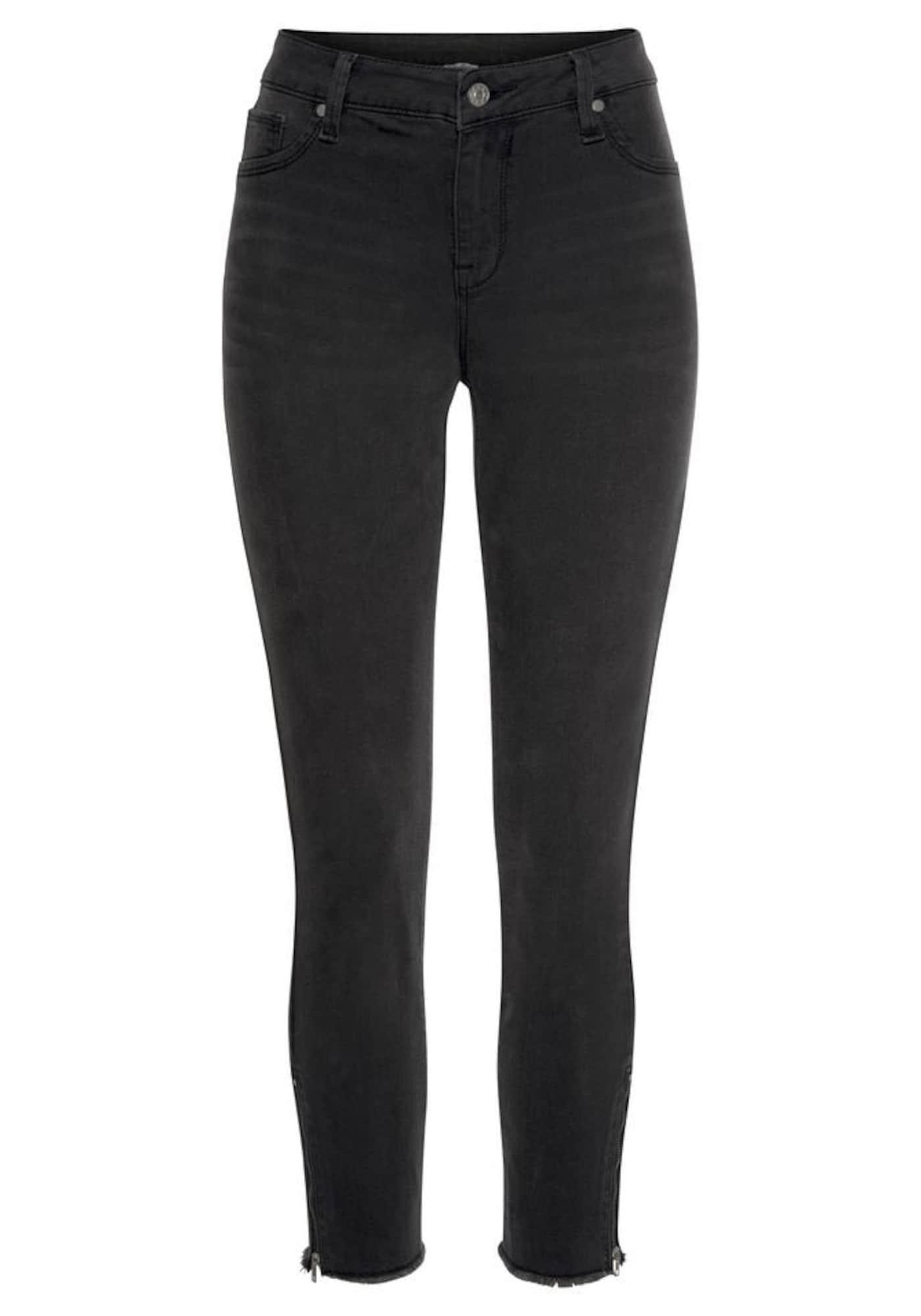 Jeggings   Bekleidung > Jeans > Jeggings   Schwarz   Lascana