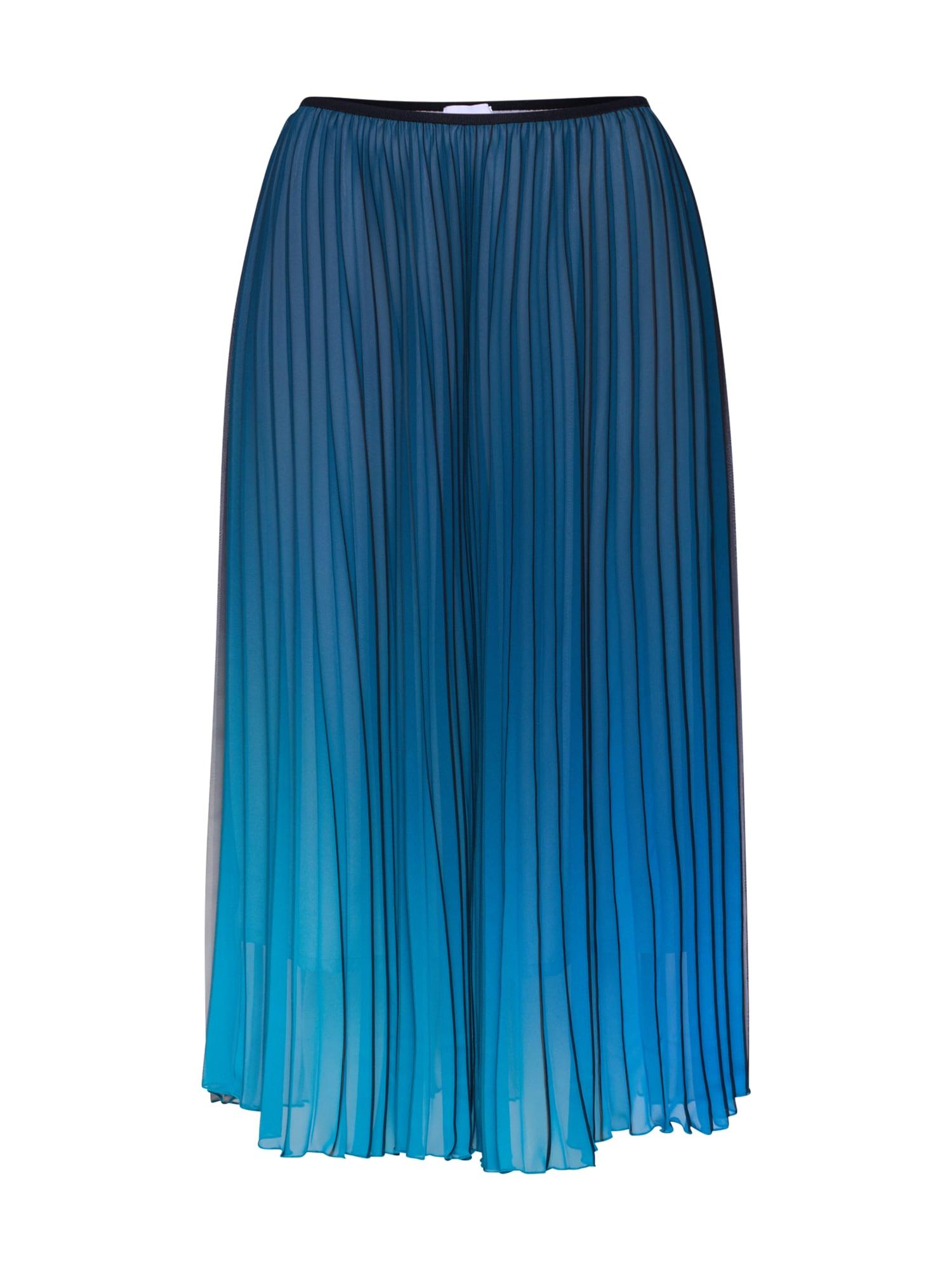 Sukně R601S modrá šedá RENÉ LEZARD