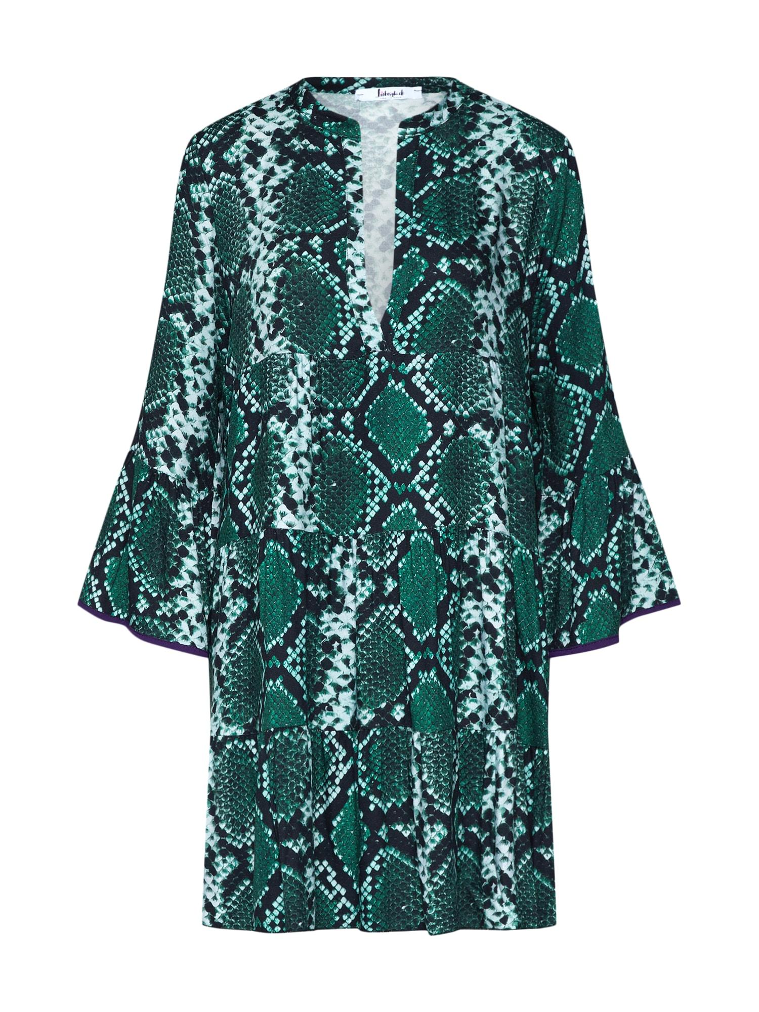 Letní šaty LG006150 zelená Liebesglück