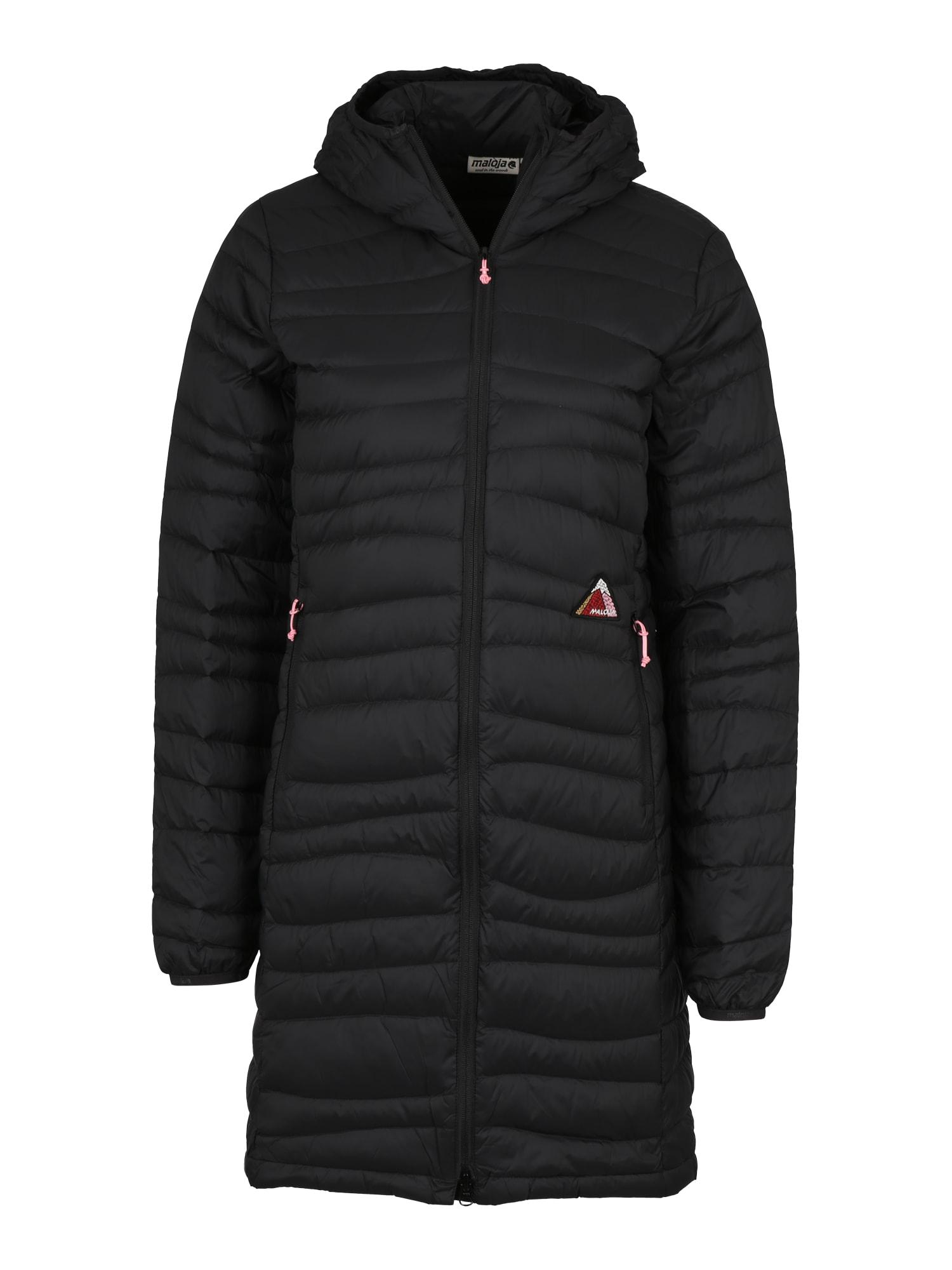 Outdoorový kabát ForaM. černá Maloja