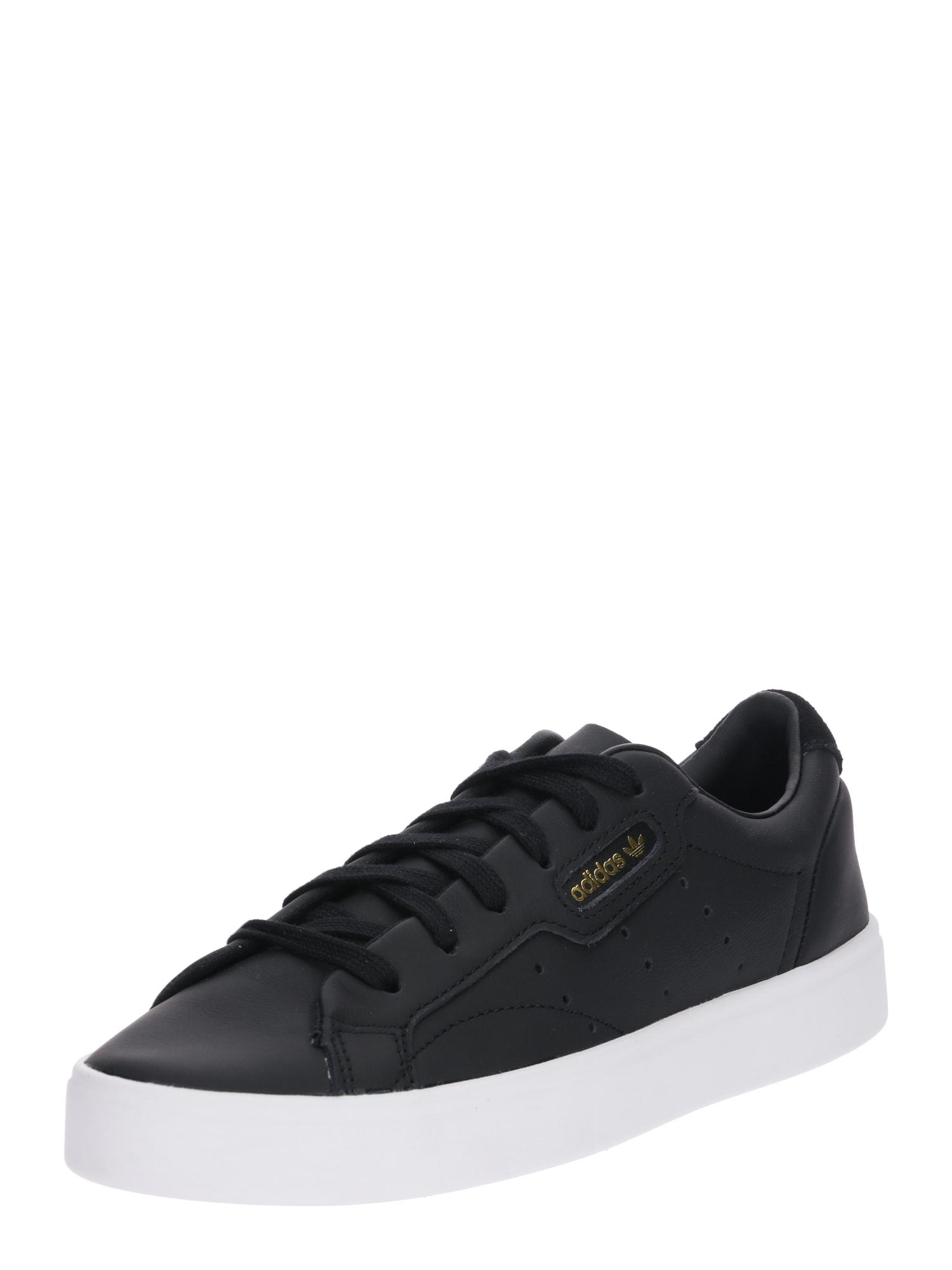ADIDAS ORIGINALS, Dames Sneakers laag 'Sleek', zwart