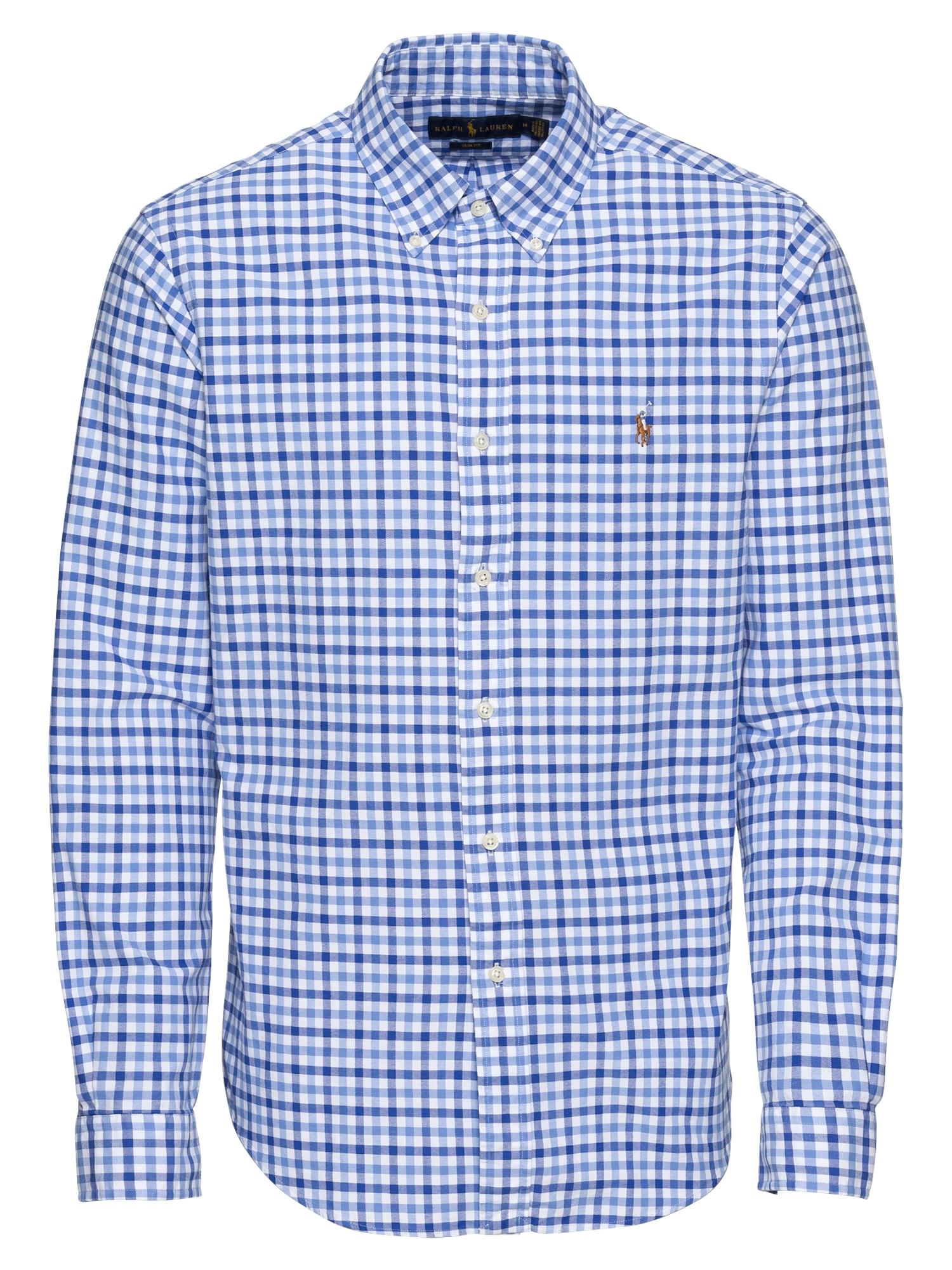 Košile modrá POLO RALPH LAUREN