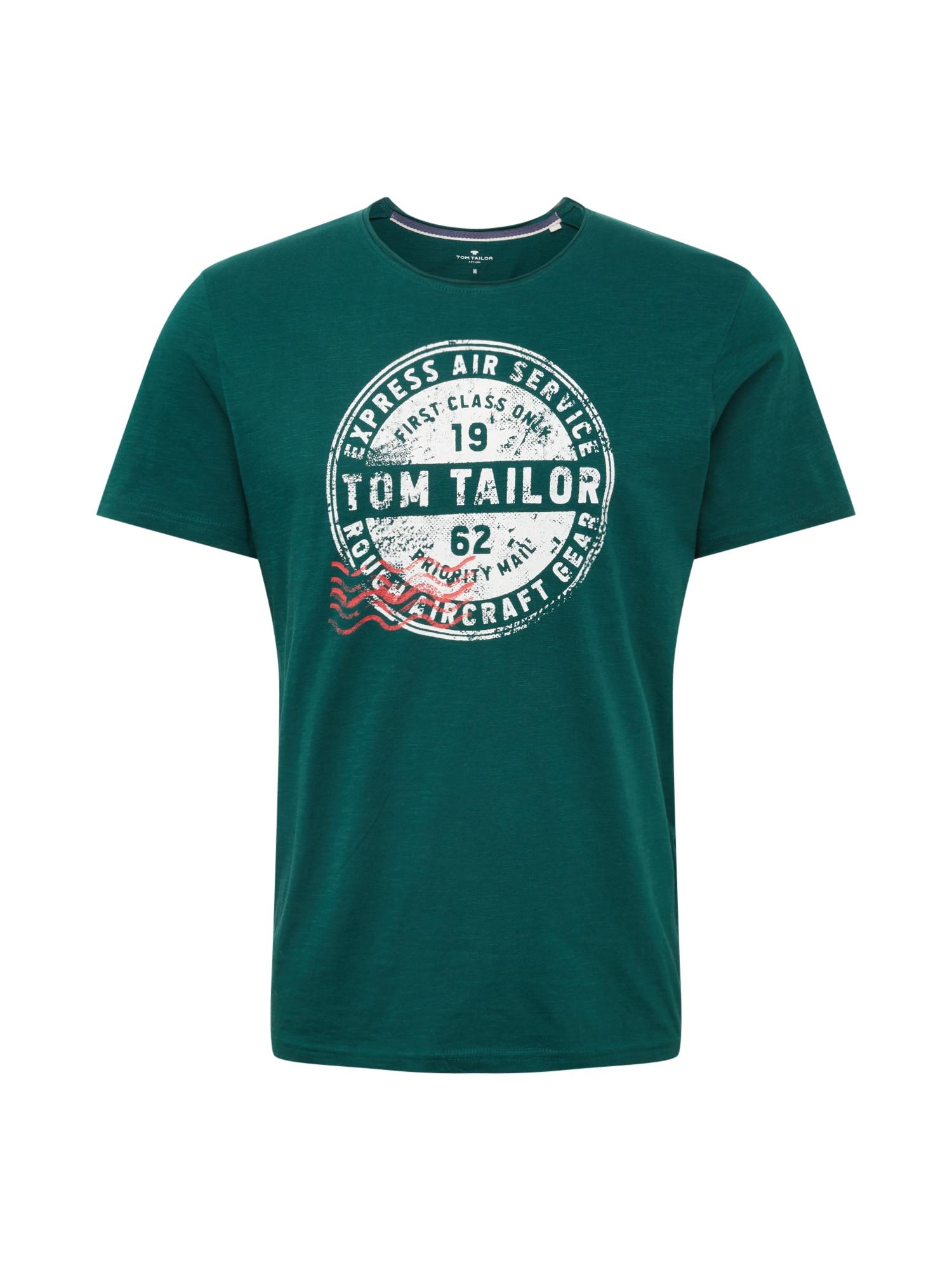 Tričko zelená TOM TAILOR