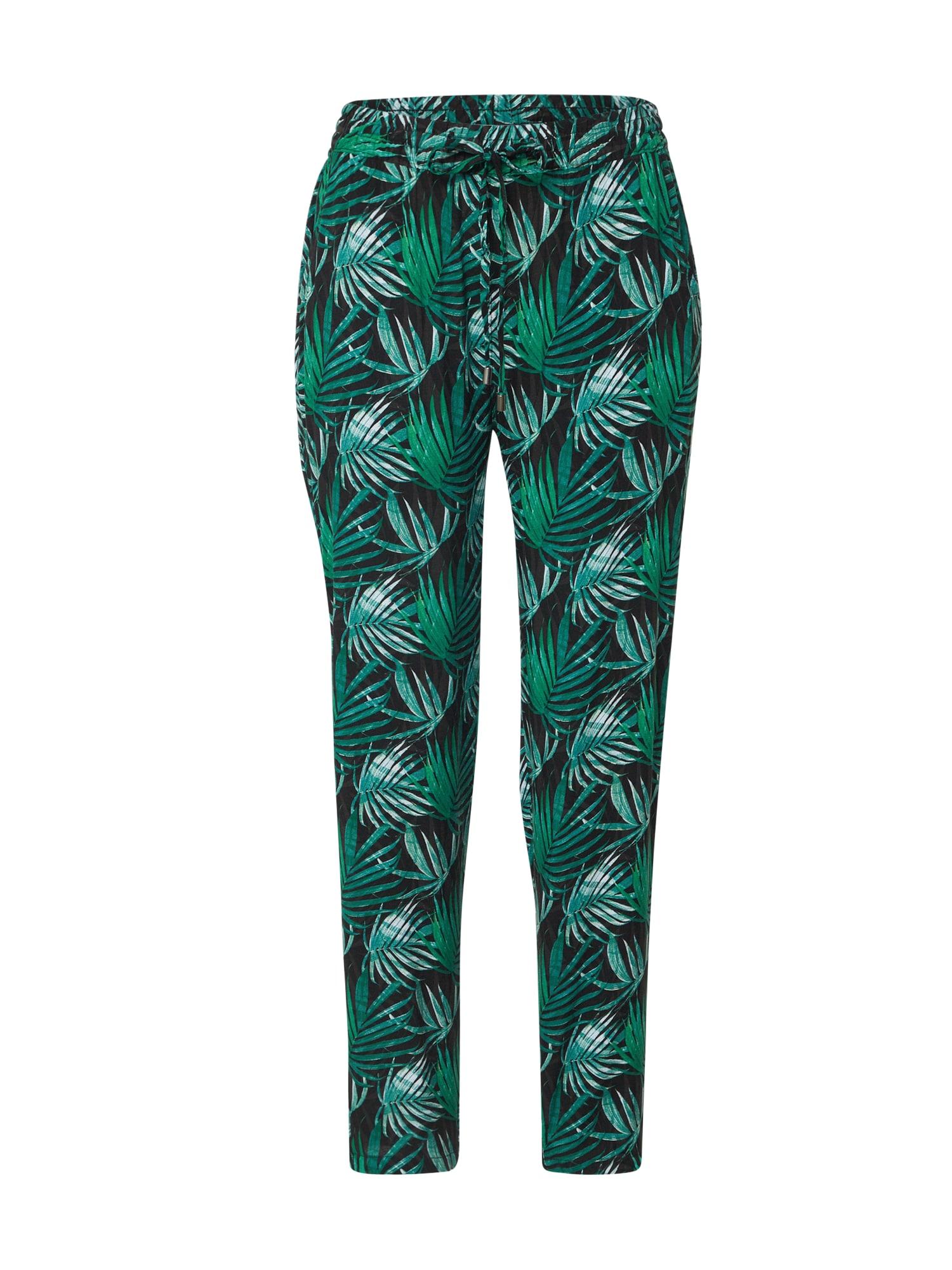 Sublevel Kalhoty  černá / zelená