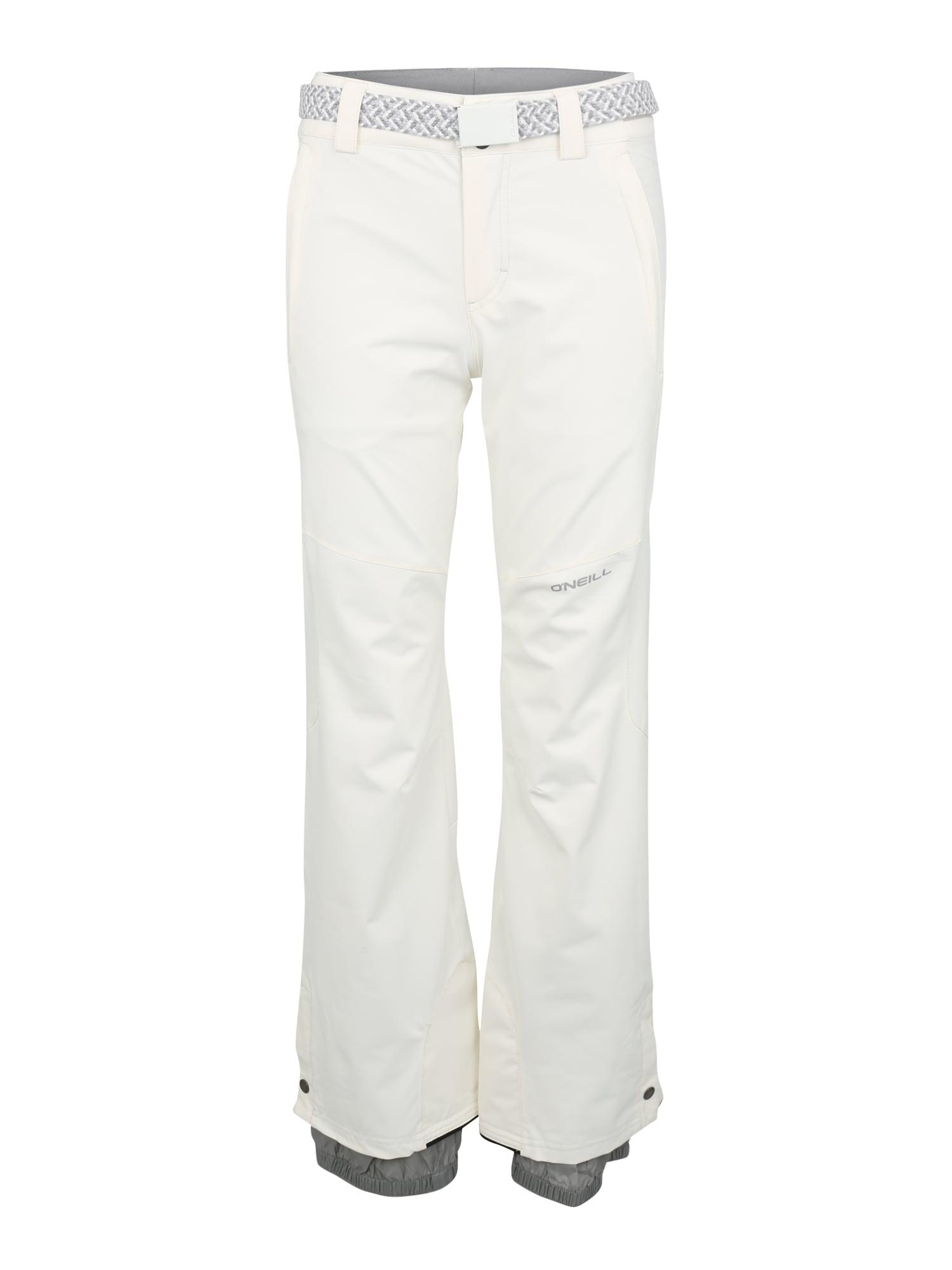ONEILL Outdoorové kalhoty STAR tmavě šedá bílá O'NEILL