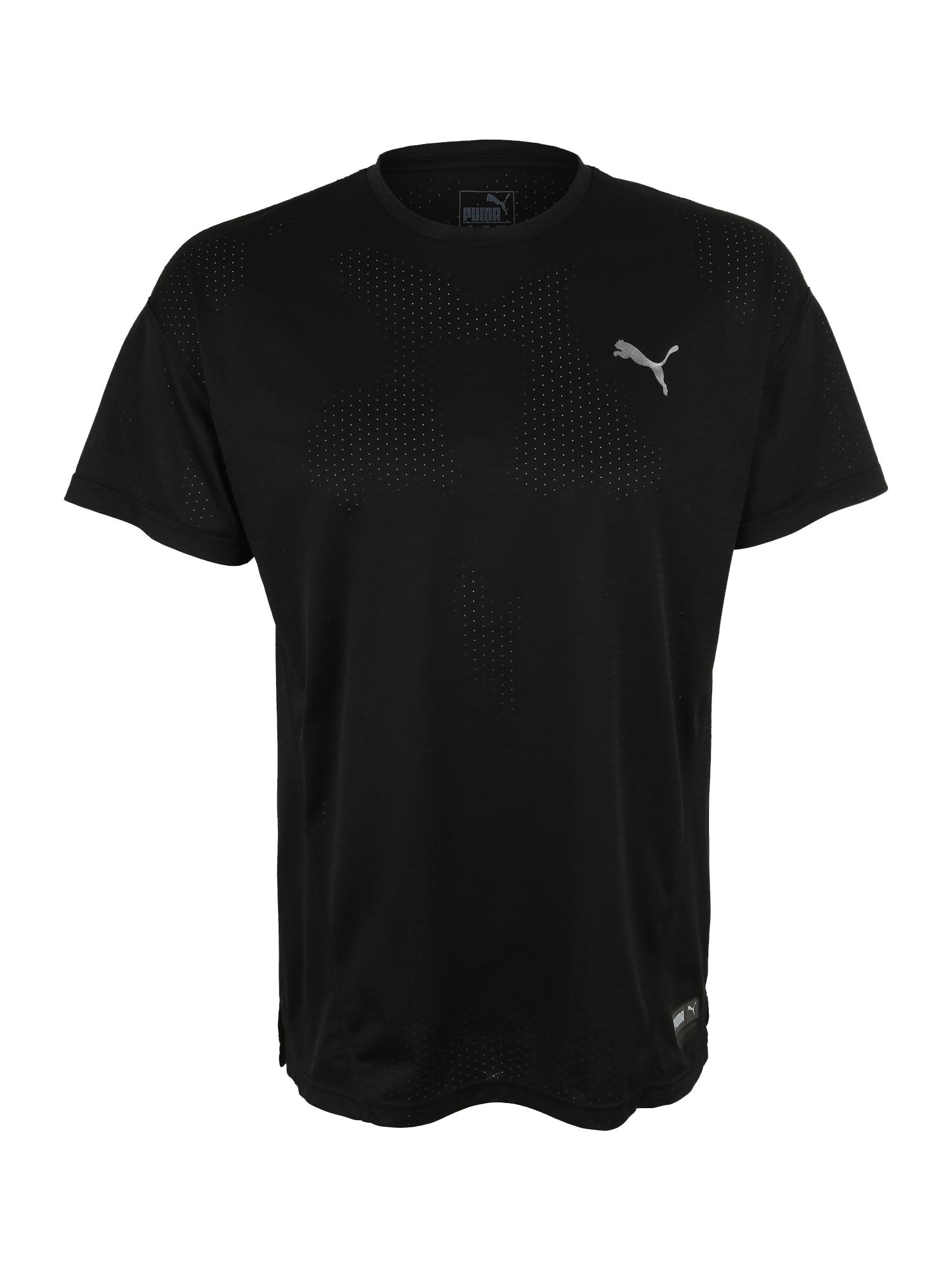 Funkční tričko A.C.E. černá stříbrná PUMA