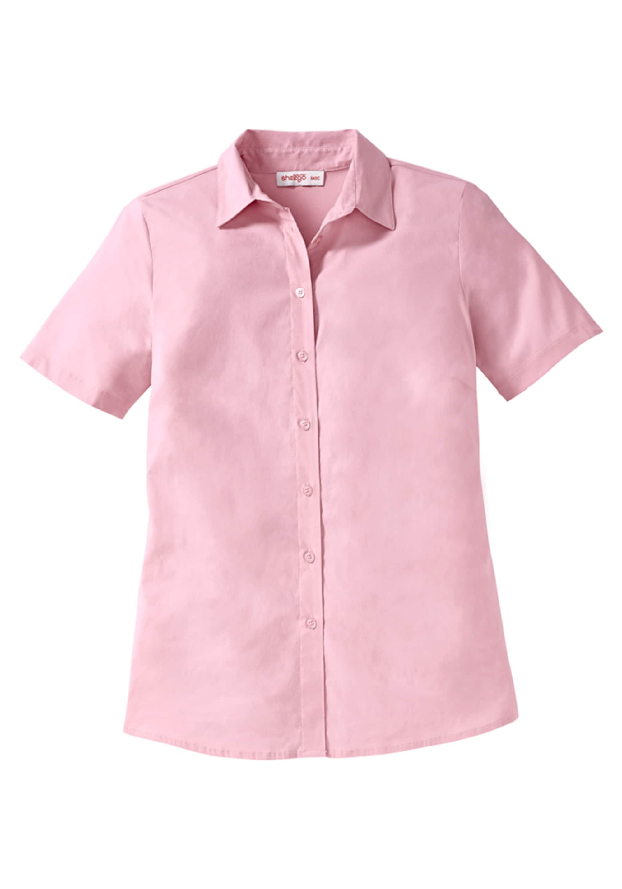 Image of Casual Basic Stretch Bluse