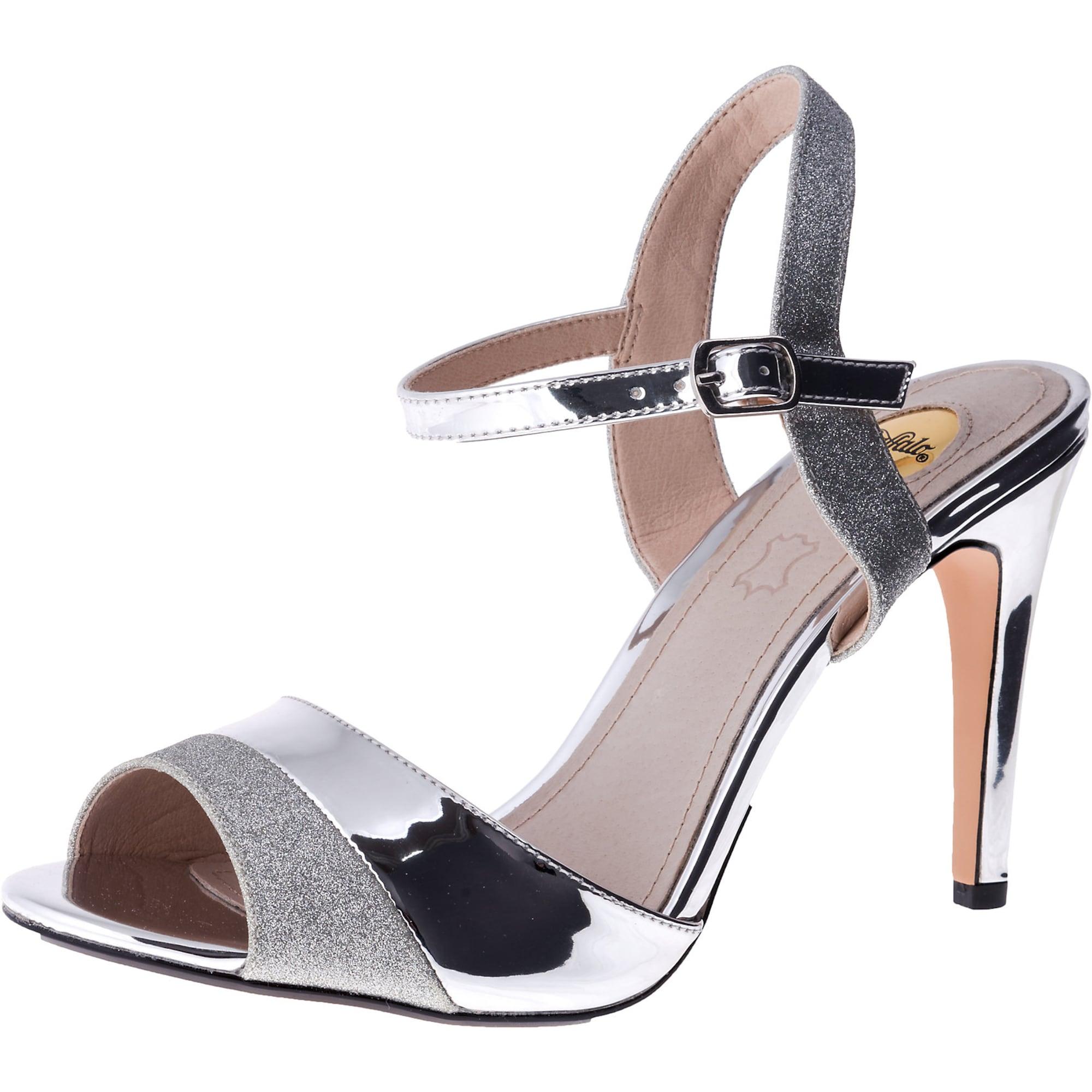 Páskové sandály Aida silber BUFFALO