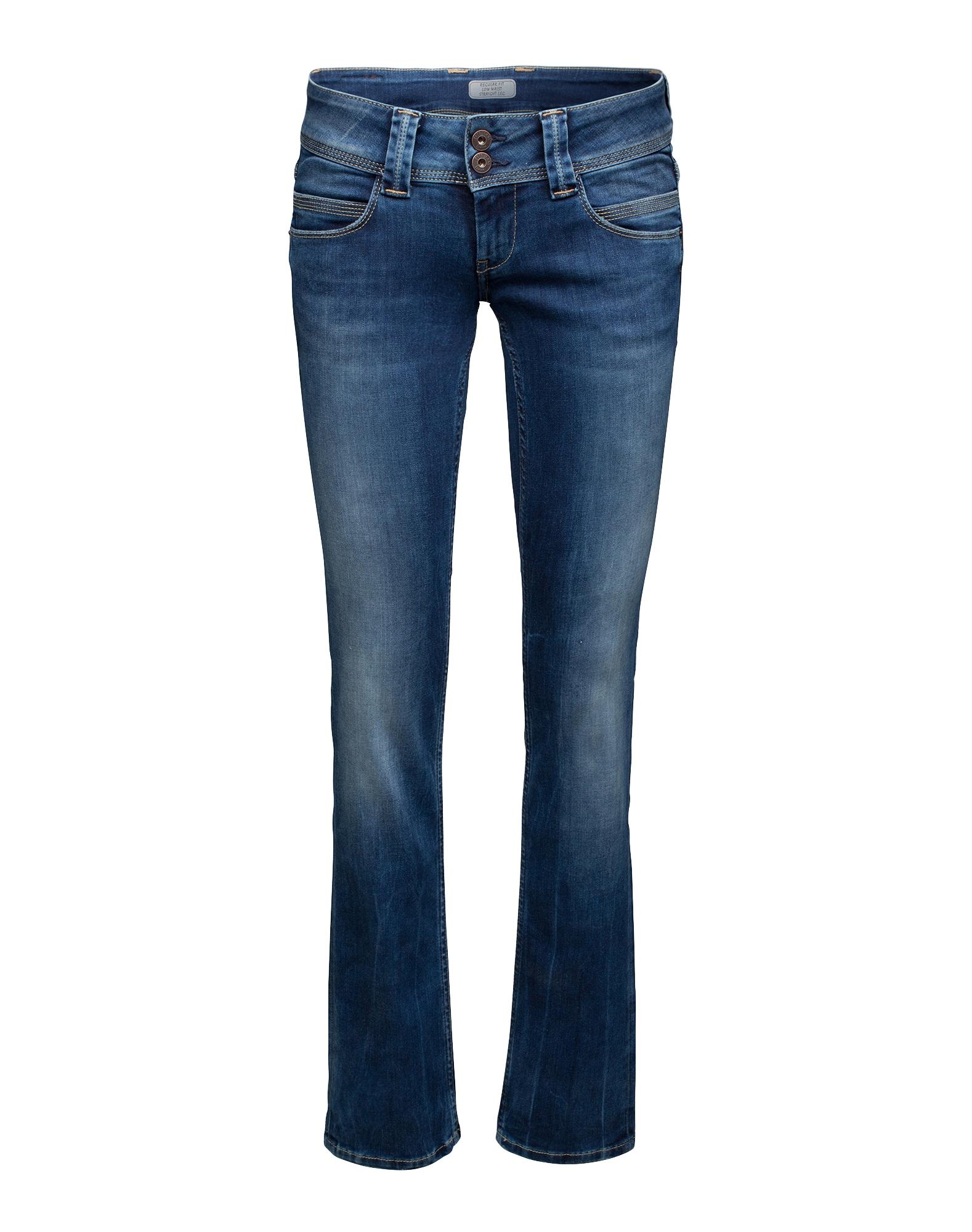 Pepe Jeans Dames Jeans Venus blauw denim