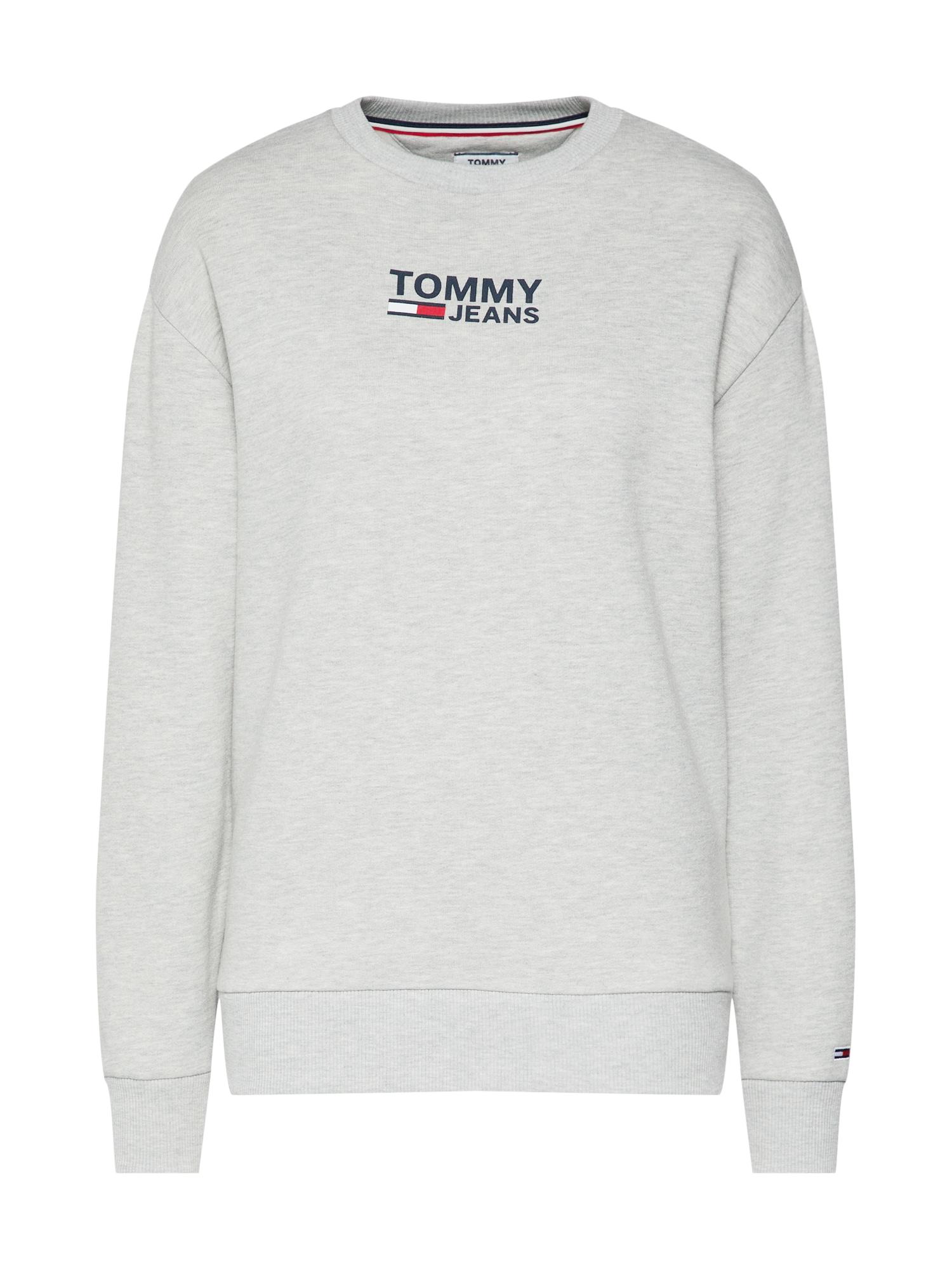 TOMMY HILFIGER, Dames Sweatshirt, grijs gemleerd