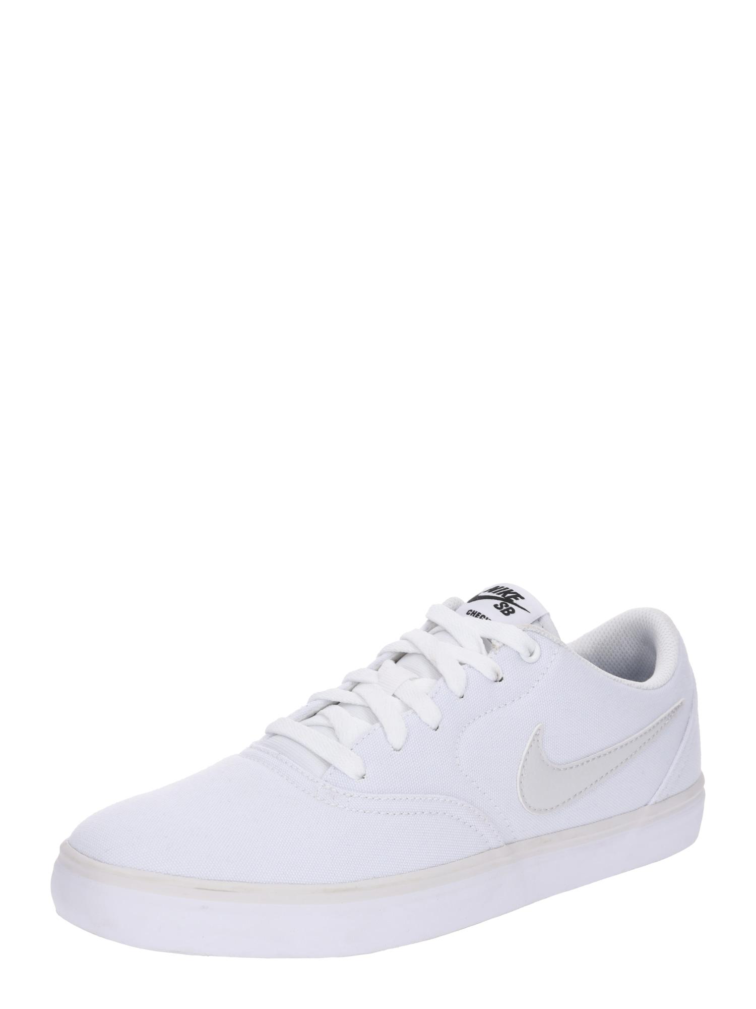 Tenisky Check Solar bílá Nike SB