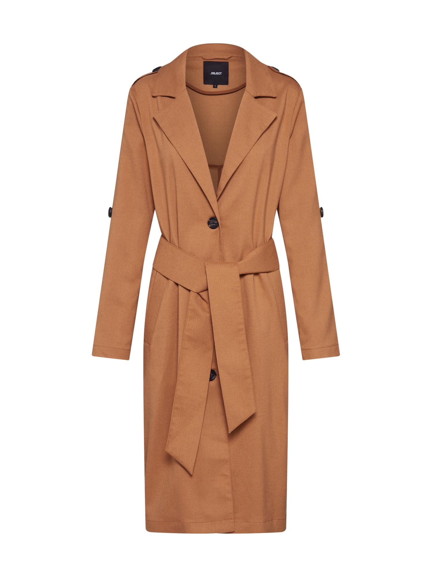 Přechodný kabát Annabelle hnědá OBJECT