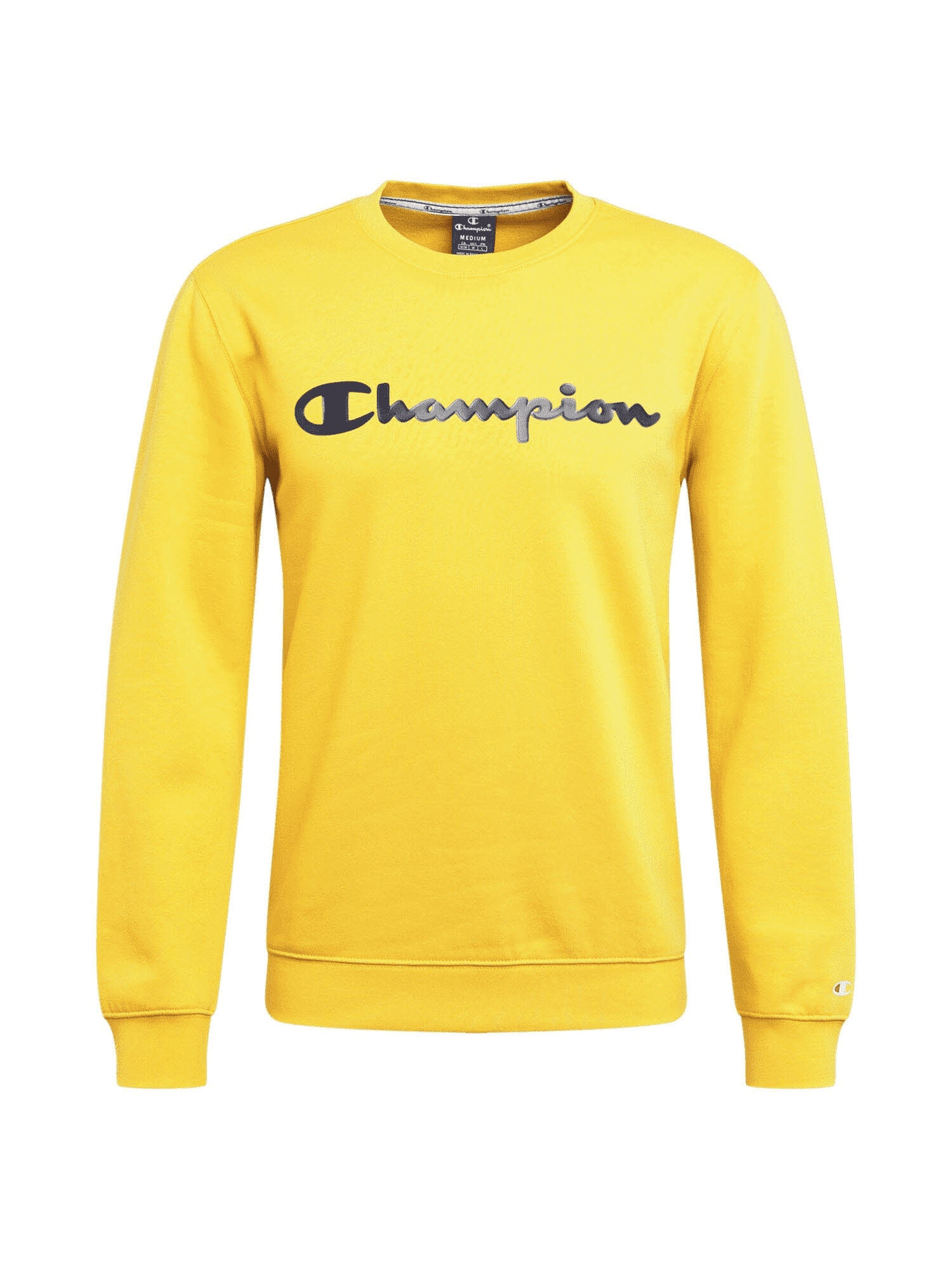 Champion Authentic Athletic Apparel Mikina  žlutá / černá