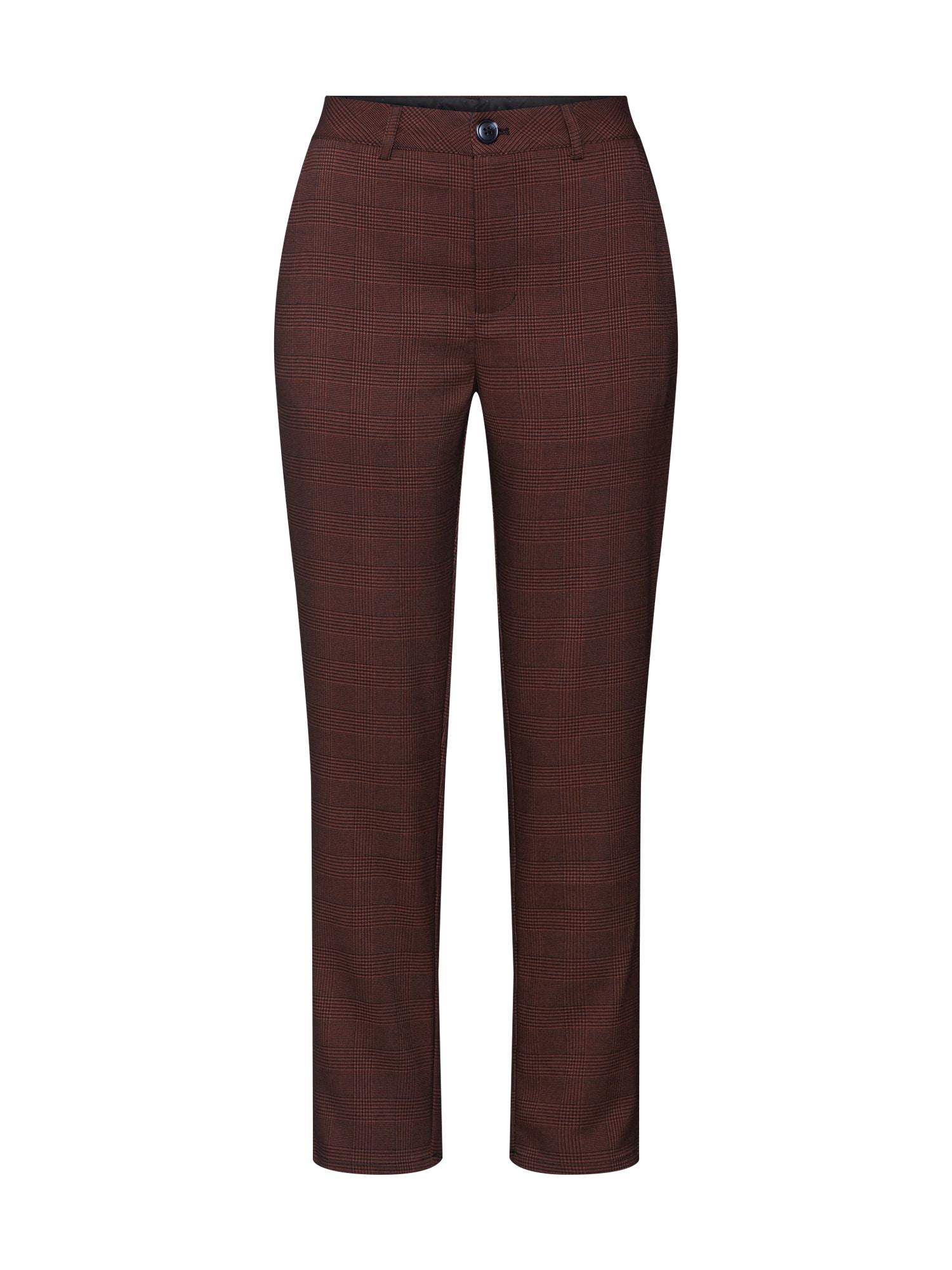 Kaffe Kalhoty 'KAtasja Pants'  červená třešeň
