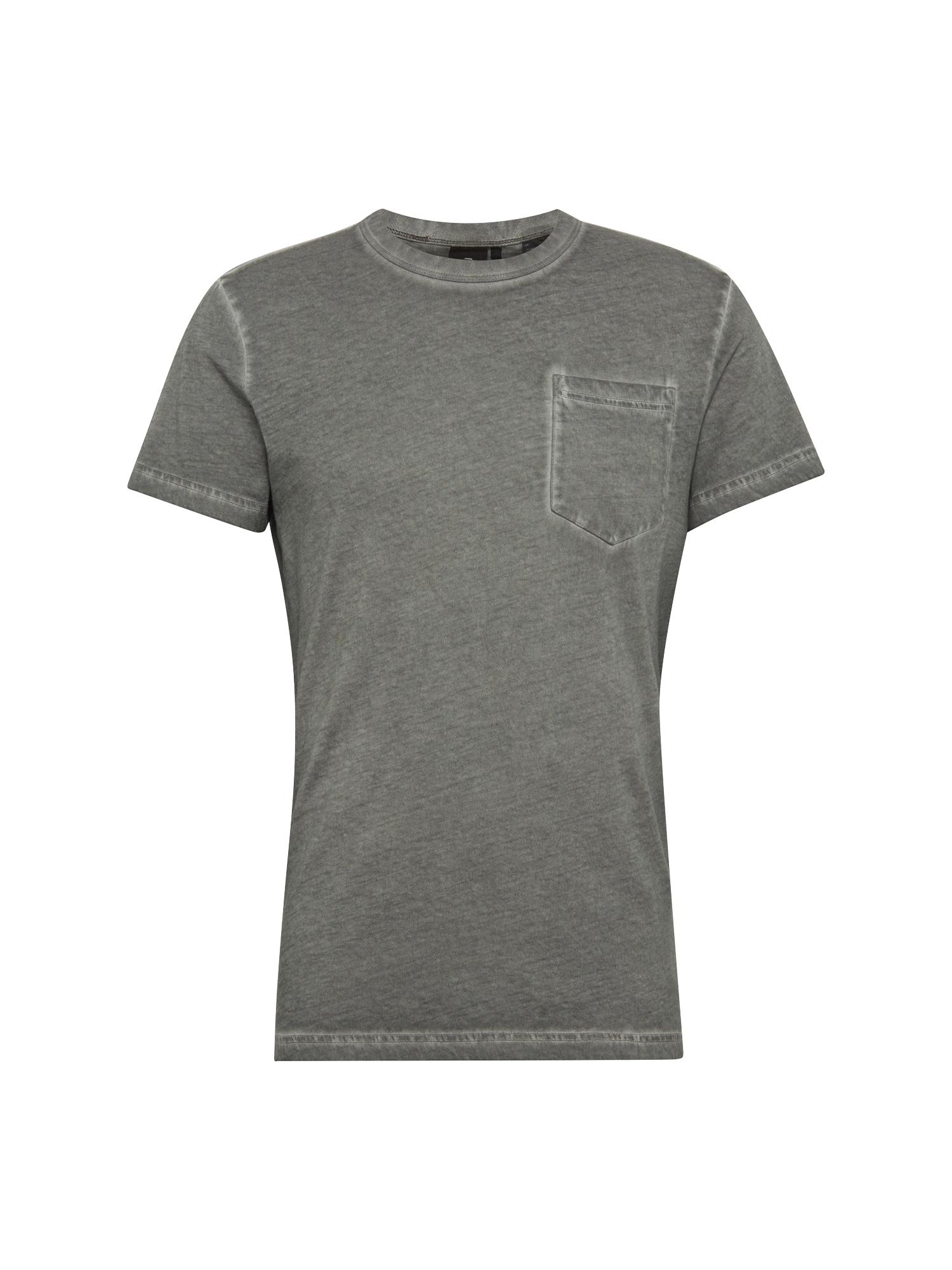 G-STAR RAW Heren Shirt Dill pocket r t s s grijs
