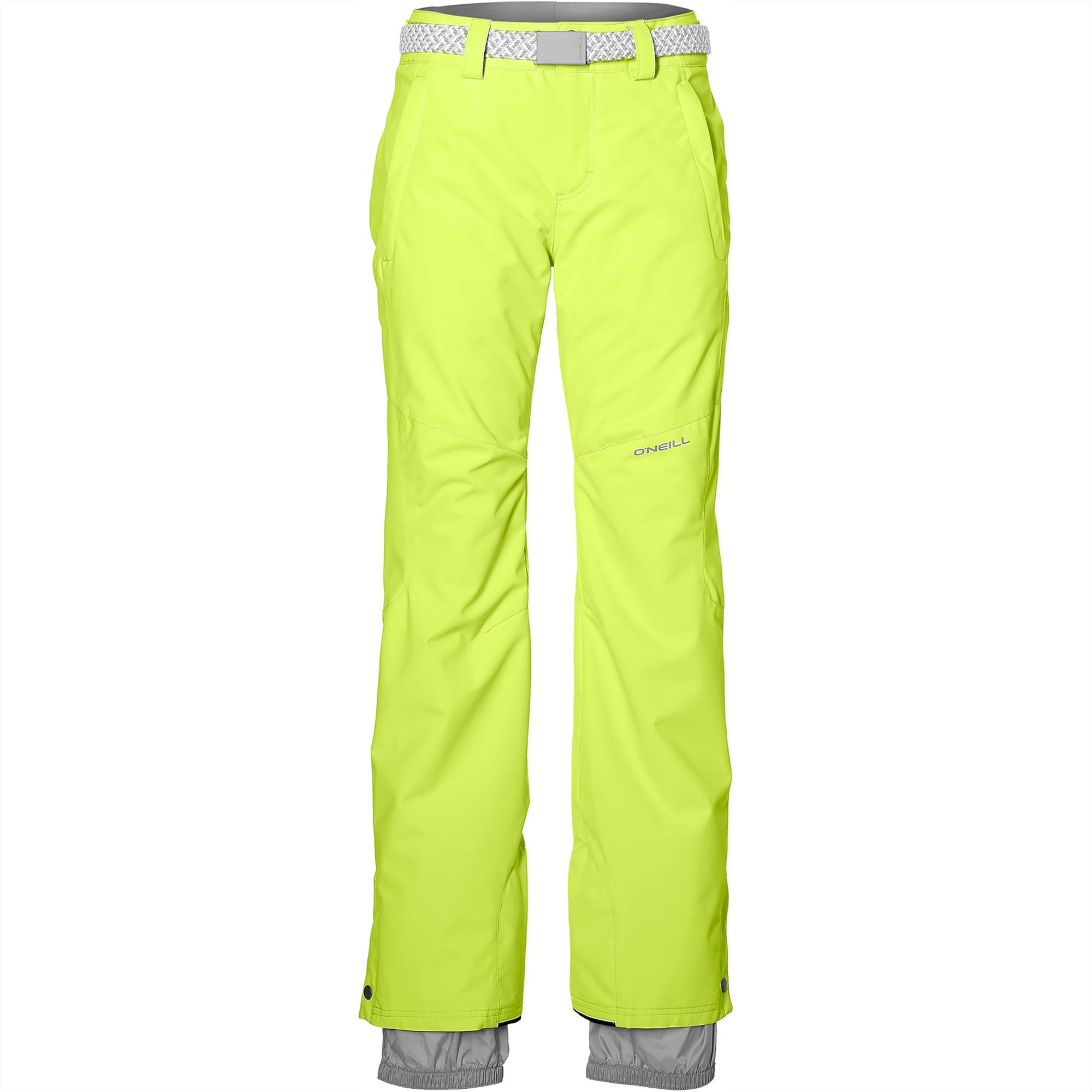 ONEILL Outdoorové kalhoty Star svítivě zelená O'NEILL