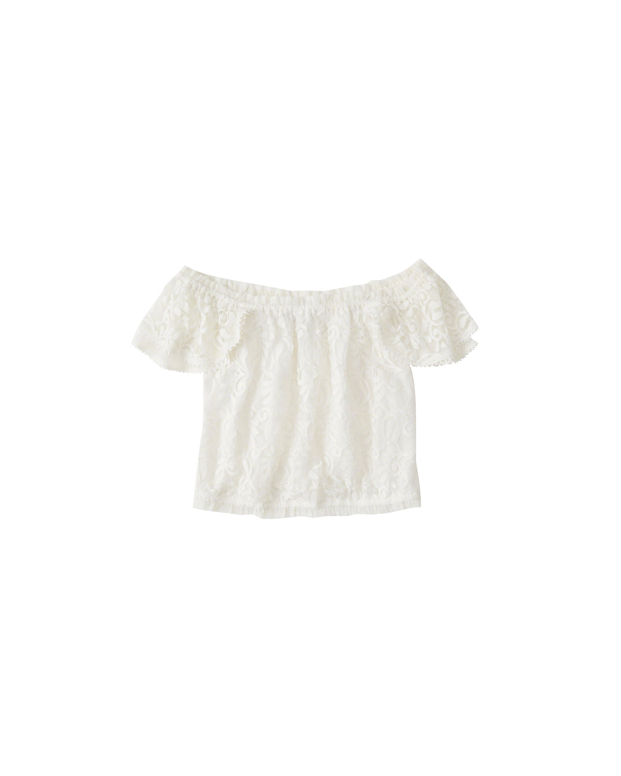 abercrombie & fitch - Shirt ´HF OTS LACE TOP´