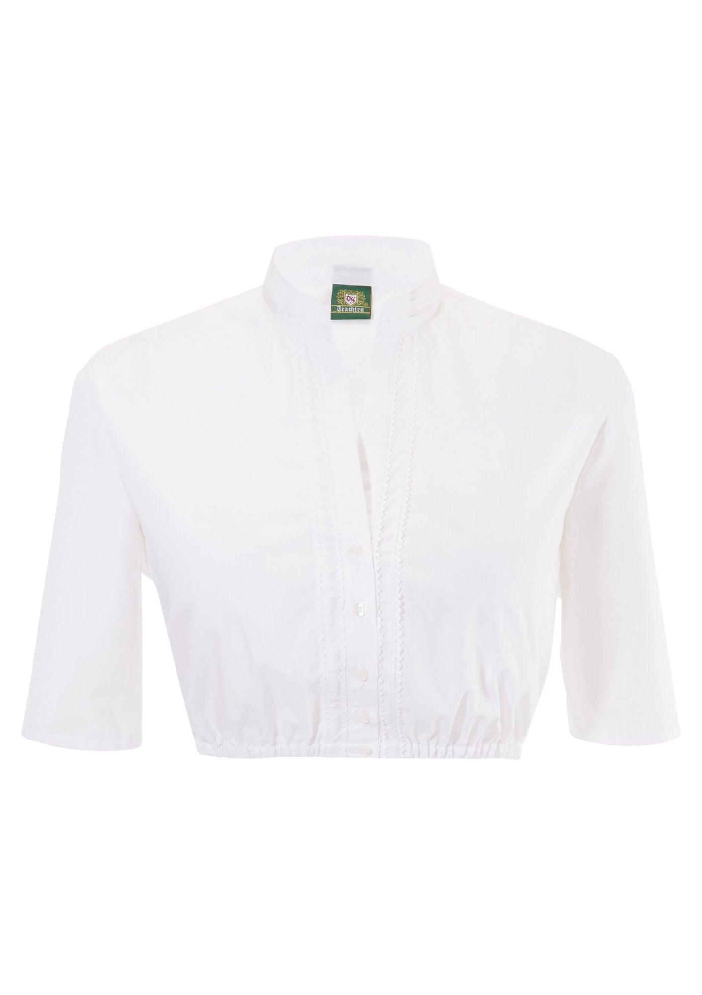 Dirndlbluse | Bekleidung > Blusen > Trachtenblusen | Weiß | OS-TRACHTEN