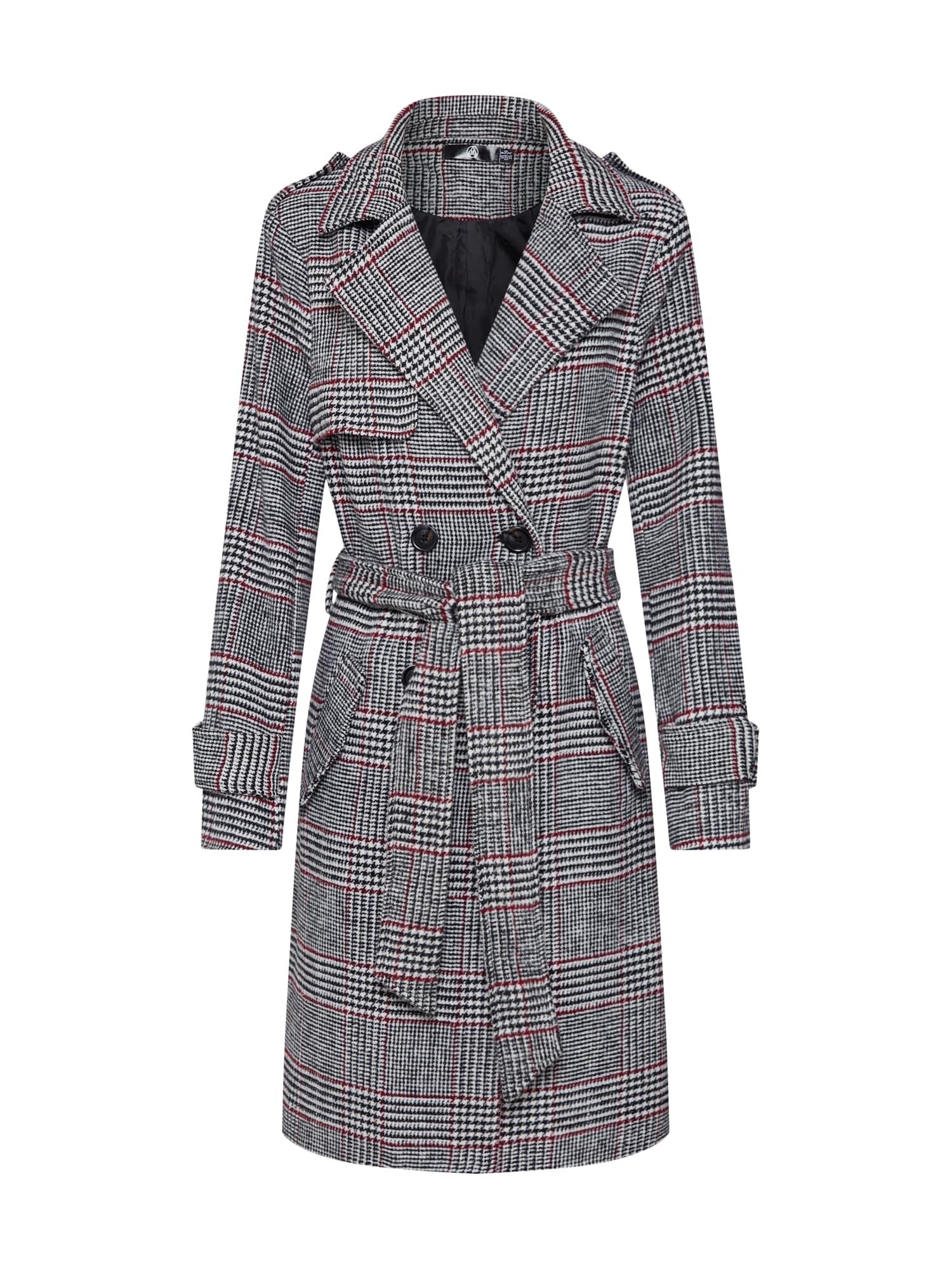 Přechodný kabát šedá Missguided