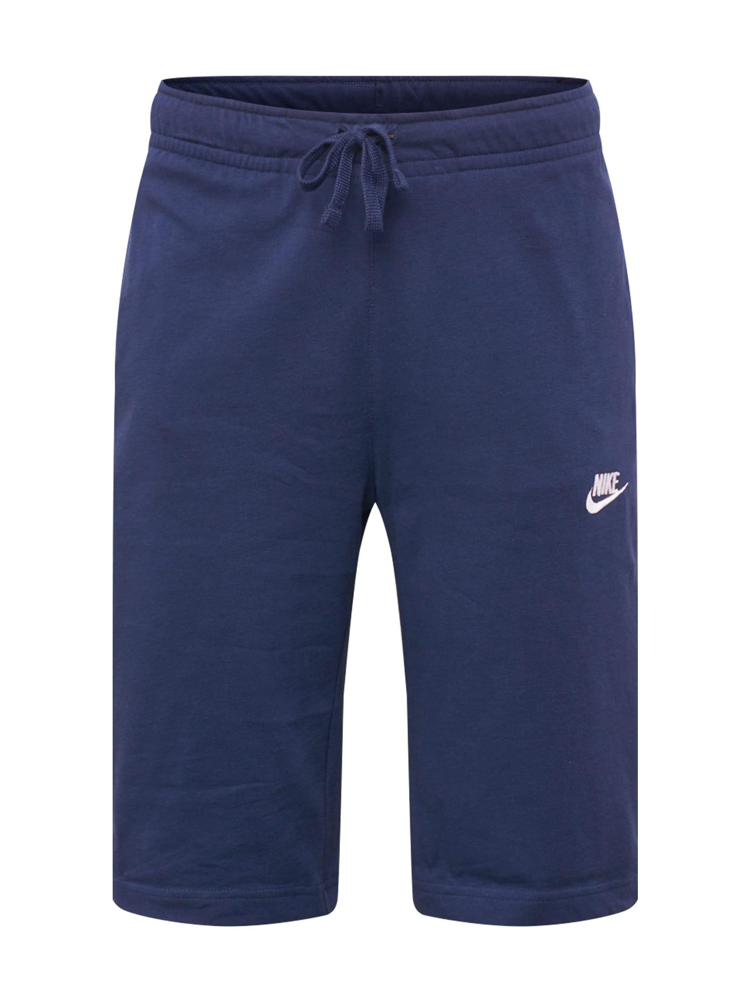 Kalhoty tmavě modrá Nike Sportswear