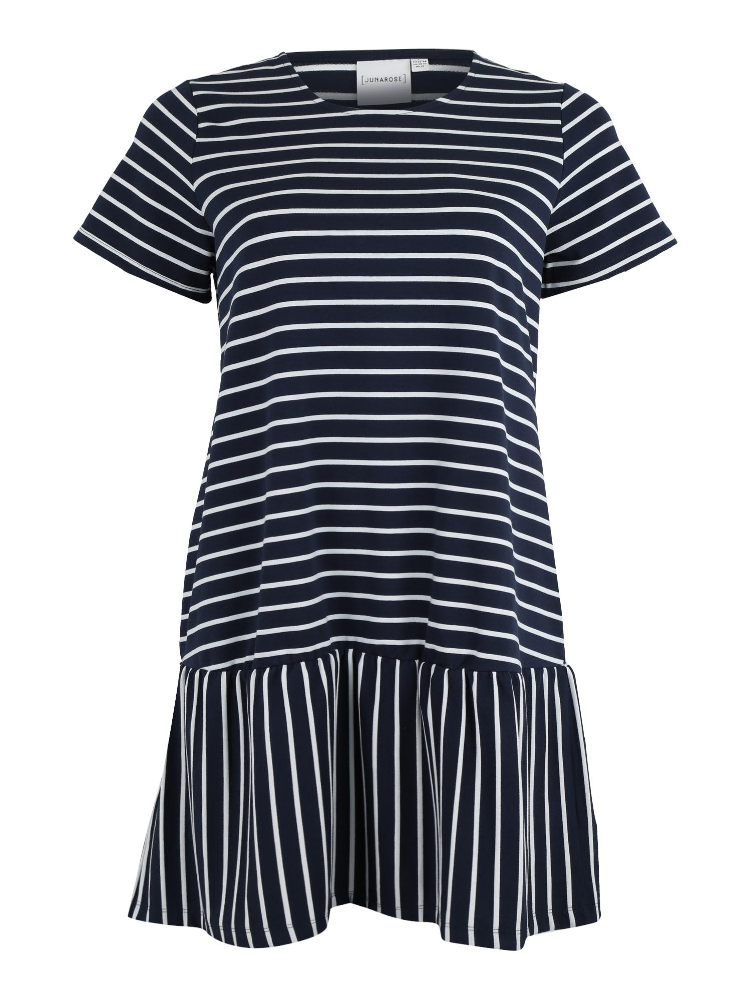 Šaty námořnická modř bílá Junarose