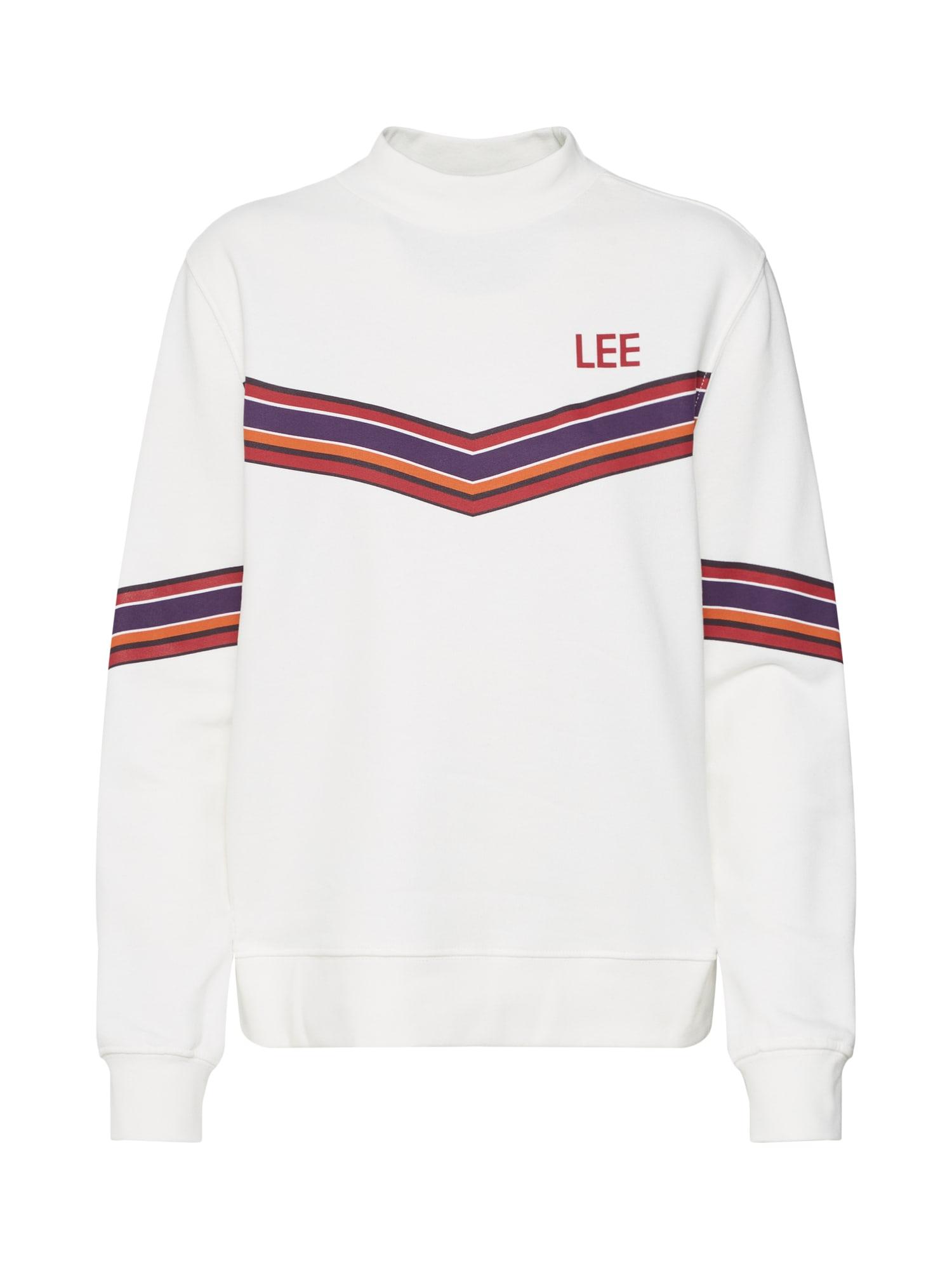 Lee, Dames Sweatshirt, wit