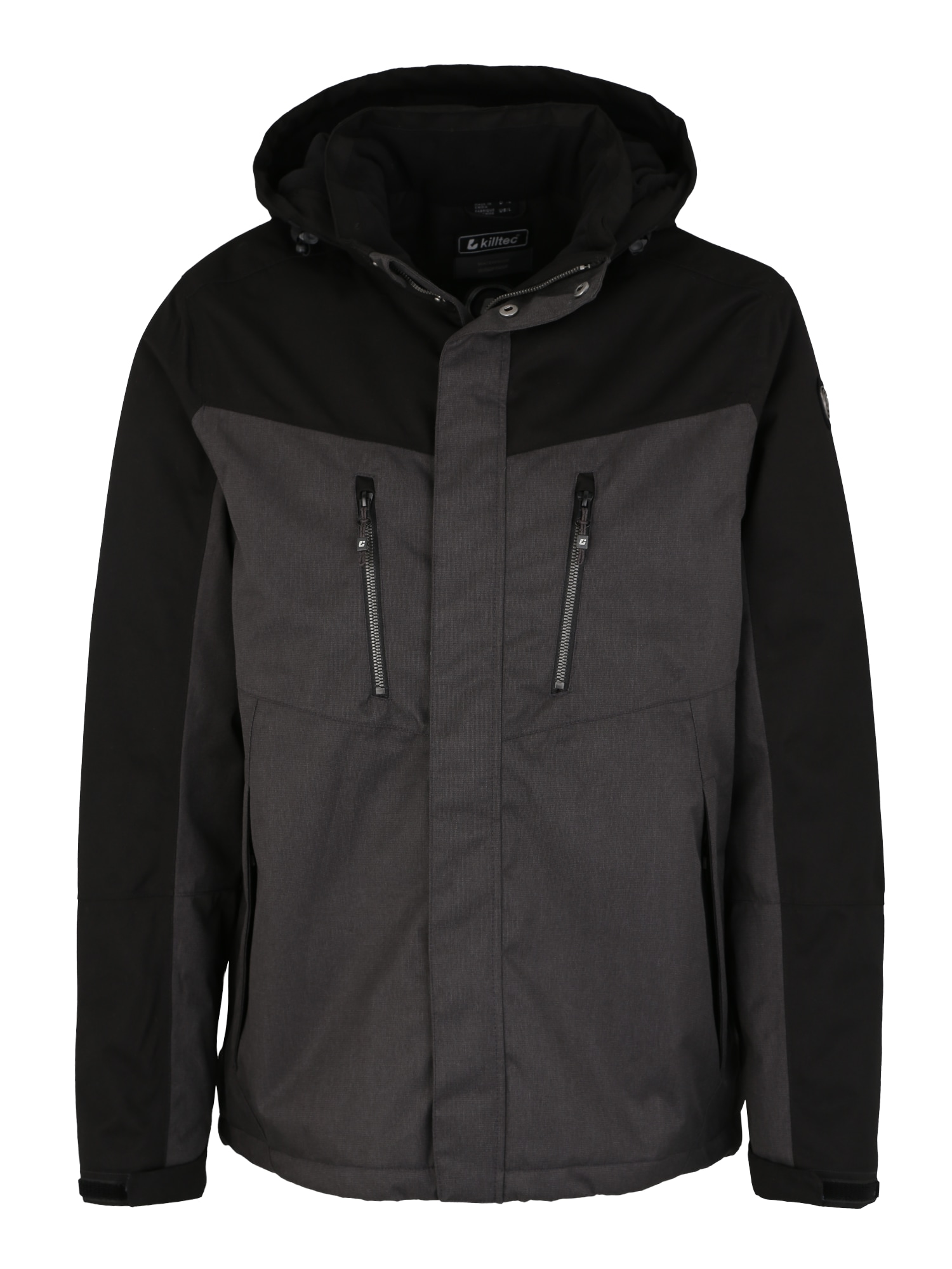 Outdoorová bunda Tiggo antracitová černá KILLTEC