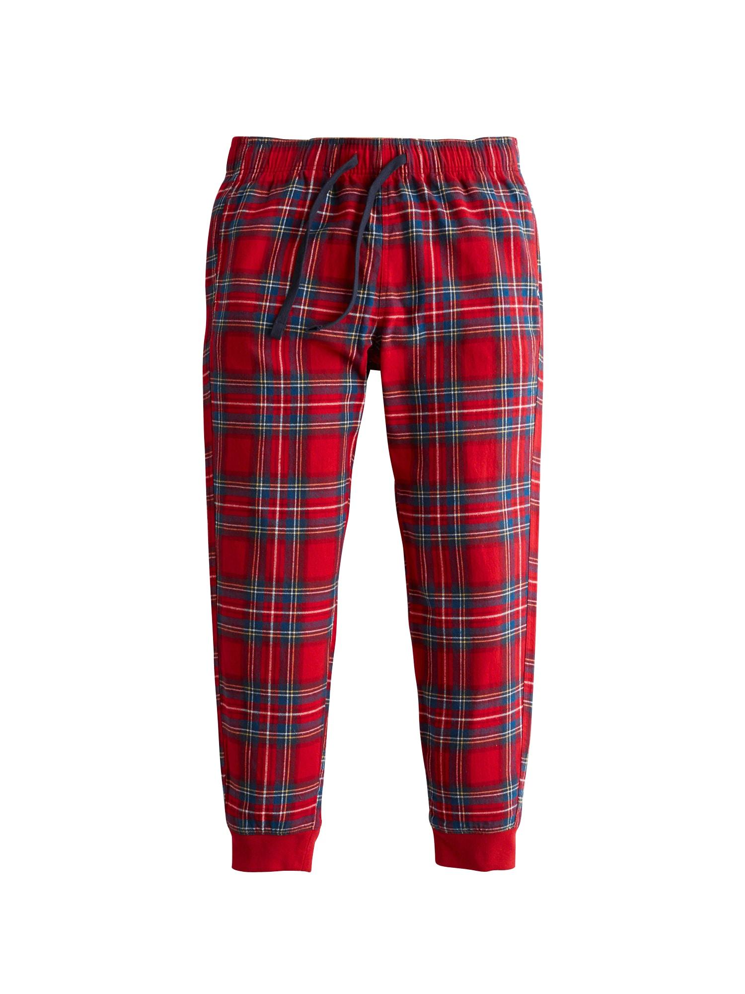 Pyžamové kalhoty modrá červená bílá HOLLISTER