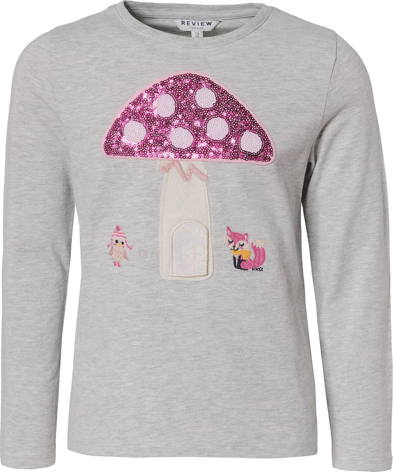 REVIEW FOR KIDS Tričko  sivá / zmiešané farby