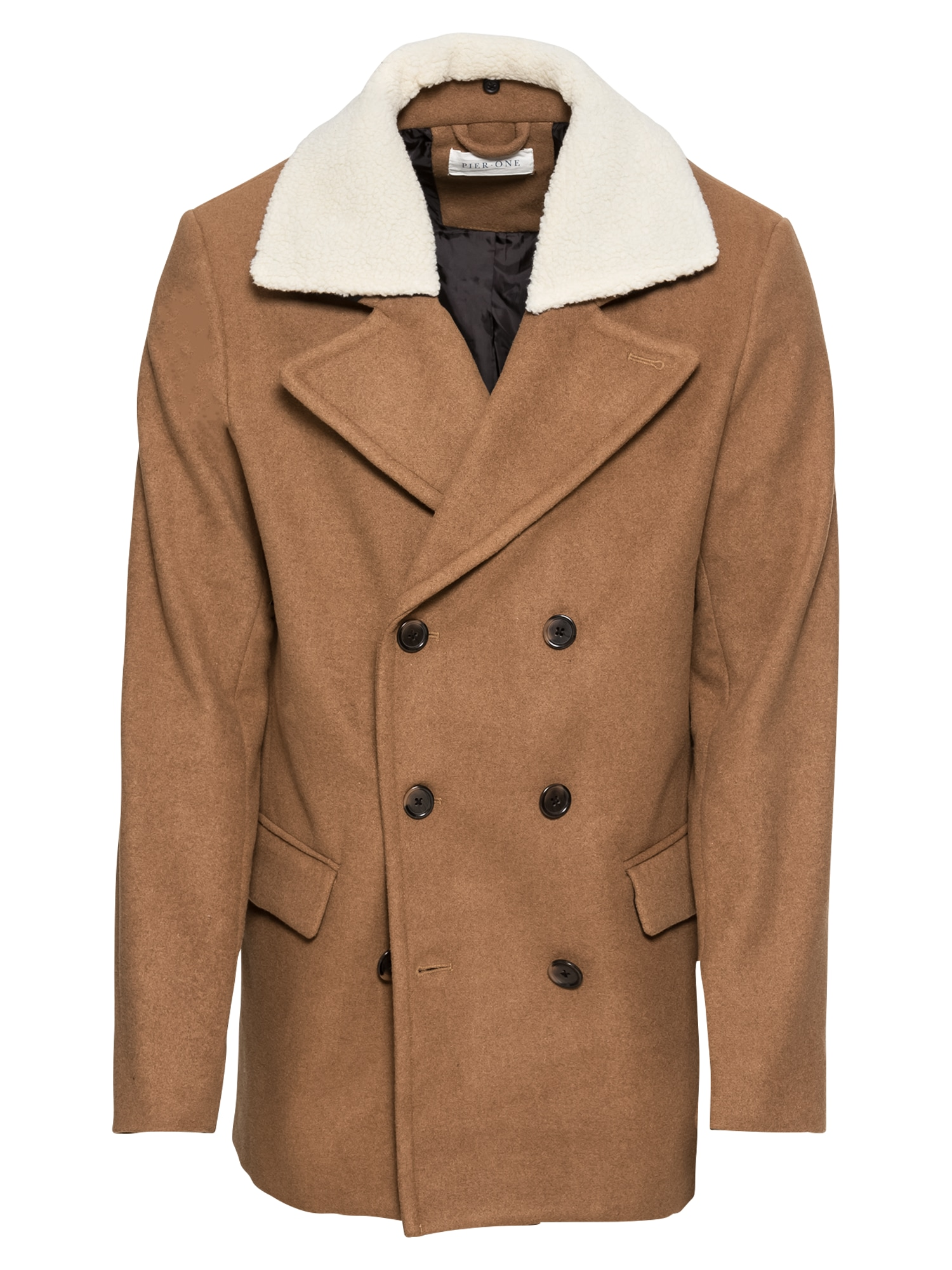 Zimní kabát Witney Russian Cote velbloudí Pier One