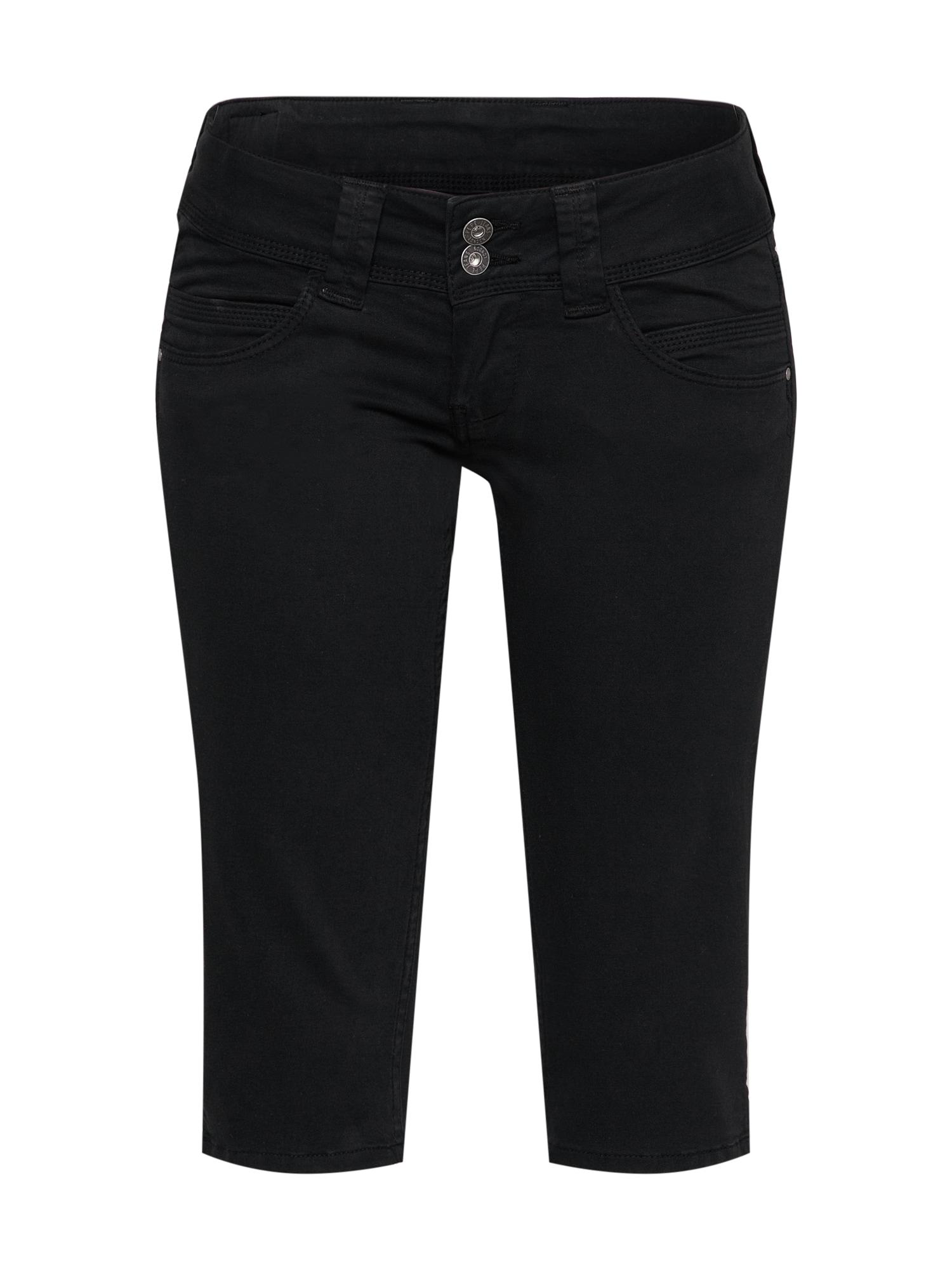 Pepe Jeans Dames Broek VENUS CROP zwart