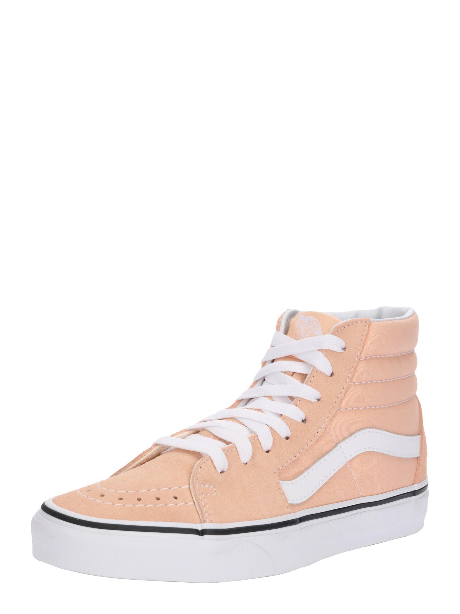 VANS, Heren Sneakers hoog 'Sk8-Hi', abrikoos / wit